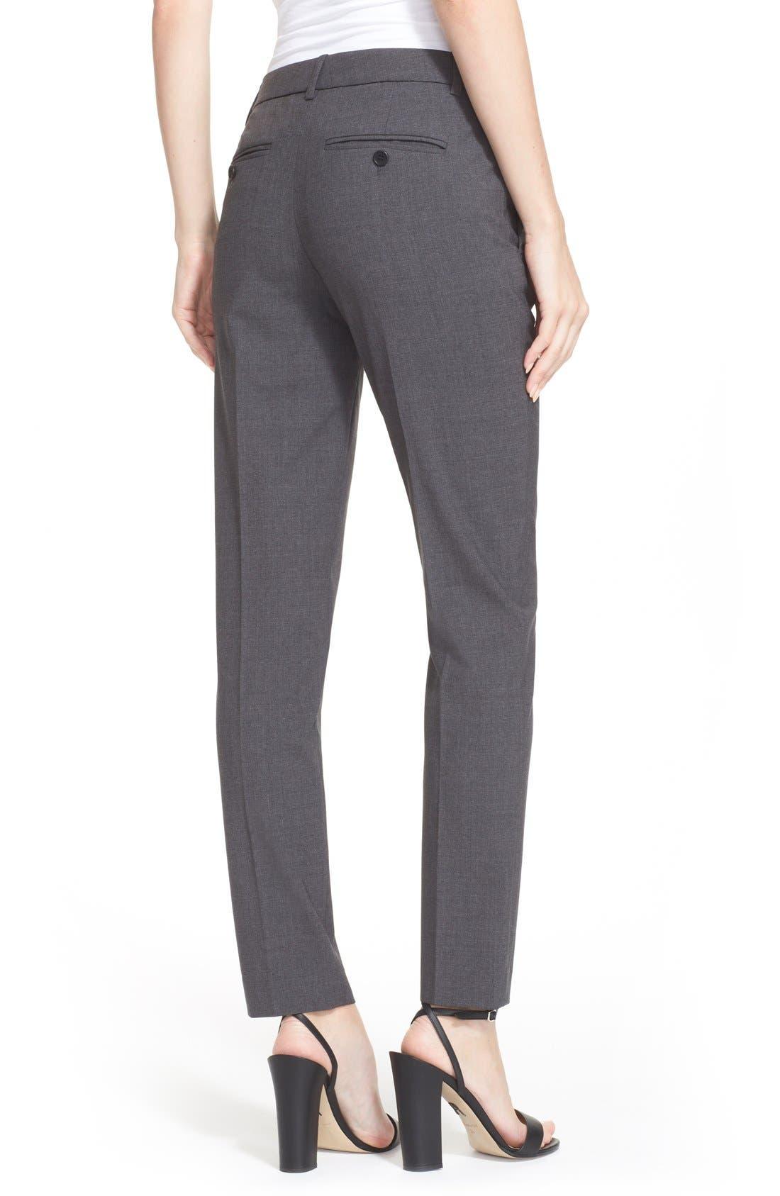 Testra 2B Stretch Wool Pants,                             Alternate thumbnail 2, color,                             020