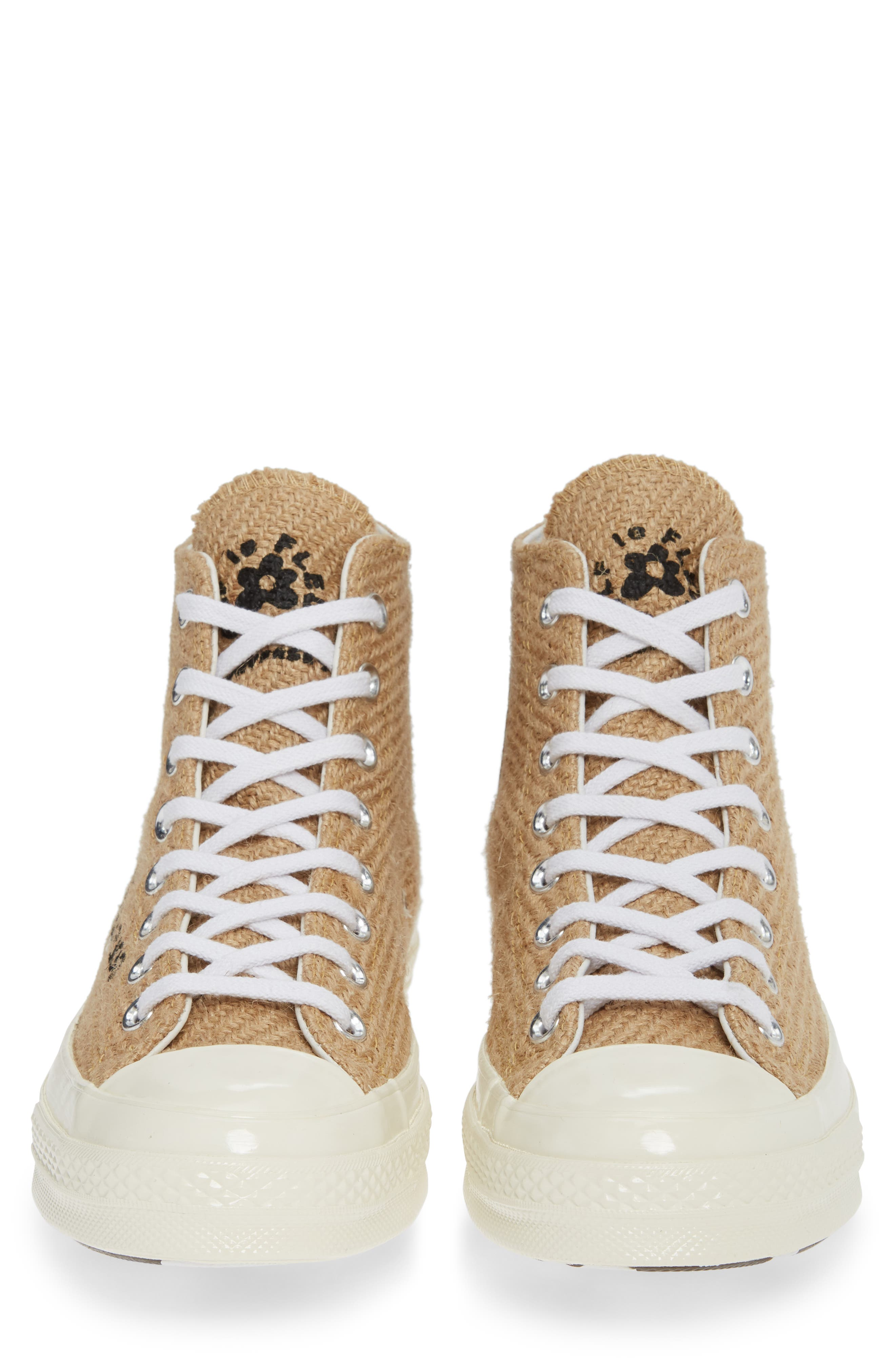 x GOLF le FLEUR* Chuck 70 High Top Sneaker,                             Alternate thumbnail 4, color,                             209