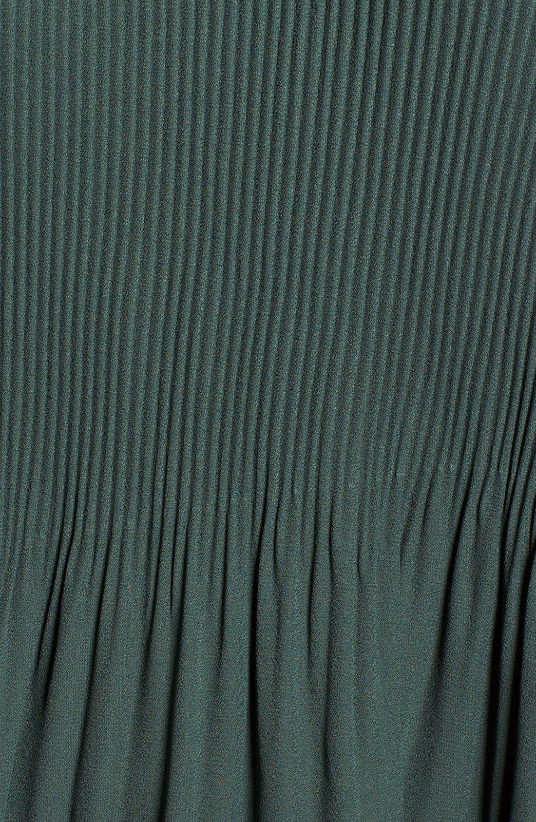 Cold Shoulder Plissê Blouse,                             Alternate thumbnail 22, color,