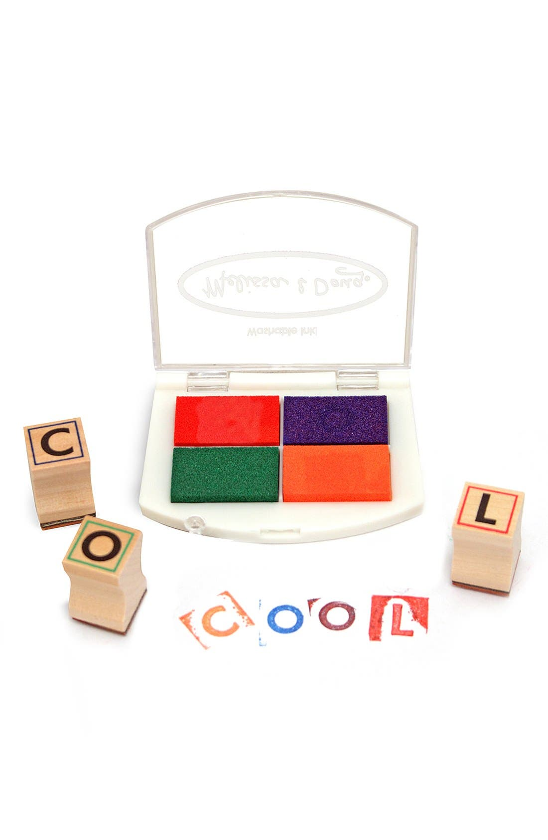 Alphabet Stamp Set,                             Alternate thumbnail 2, color,                             TAN MULTI