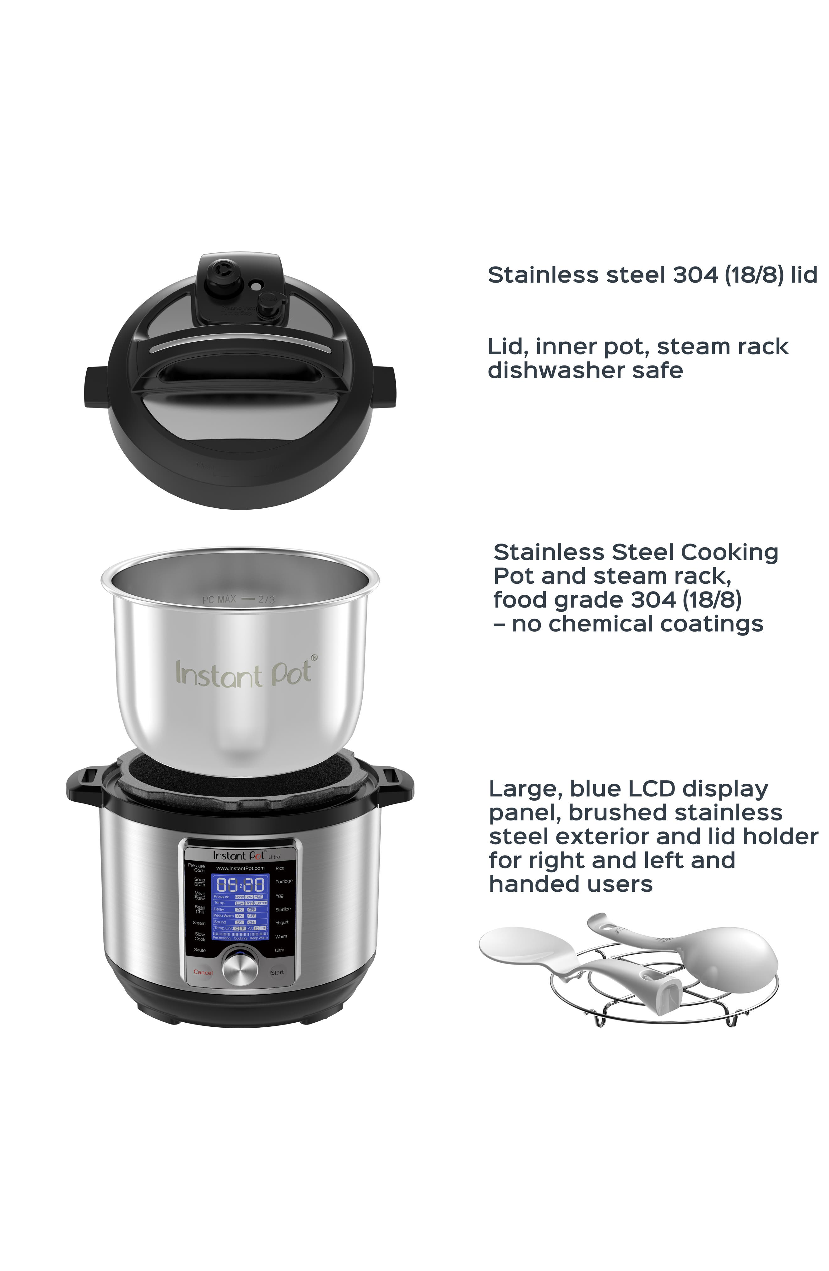 Ultra 3-Quart 10-in-1 Multiuse Programmable Cooker,                             Alternate thumbnail 7, color,                             SILVER