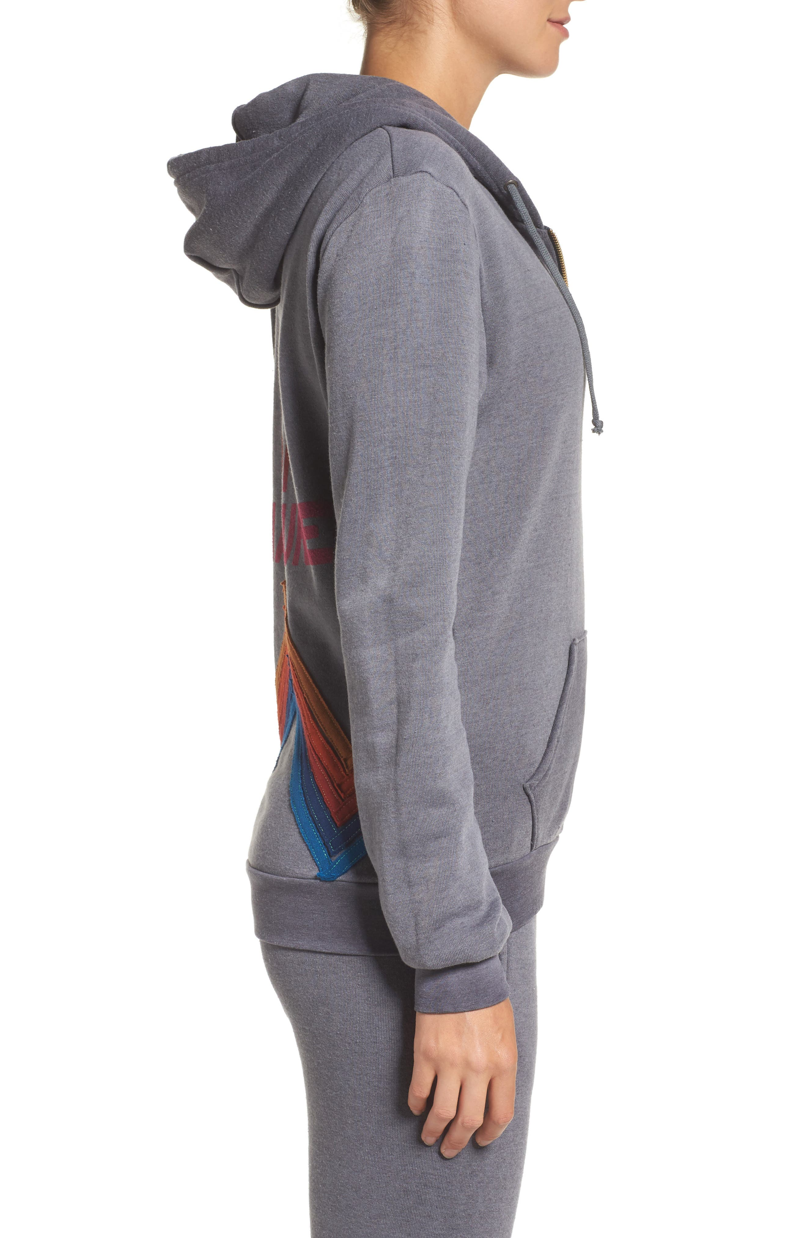 High on Nature Hoodie,                             Alternate thumbnail 3, color,                             020