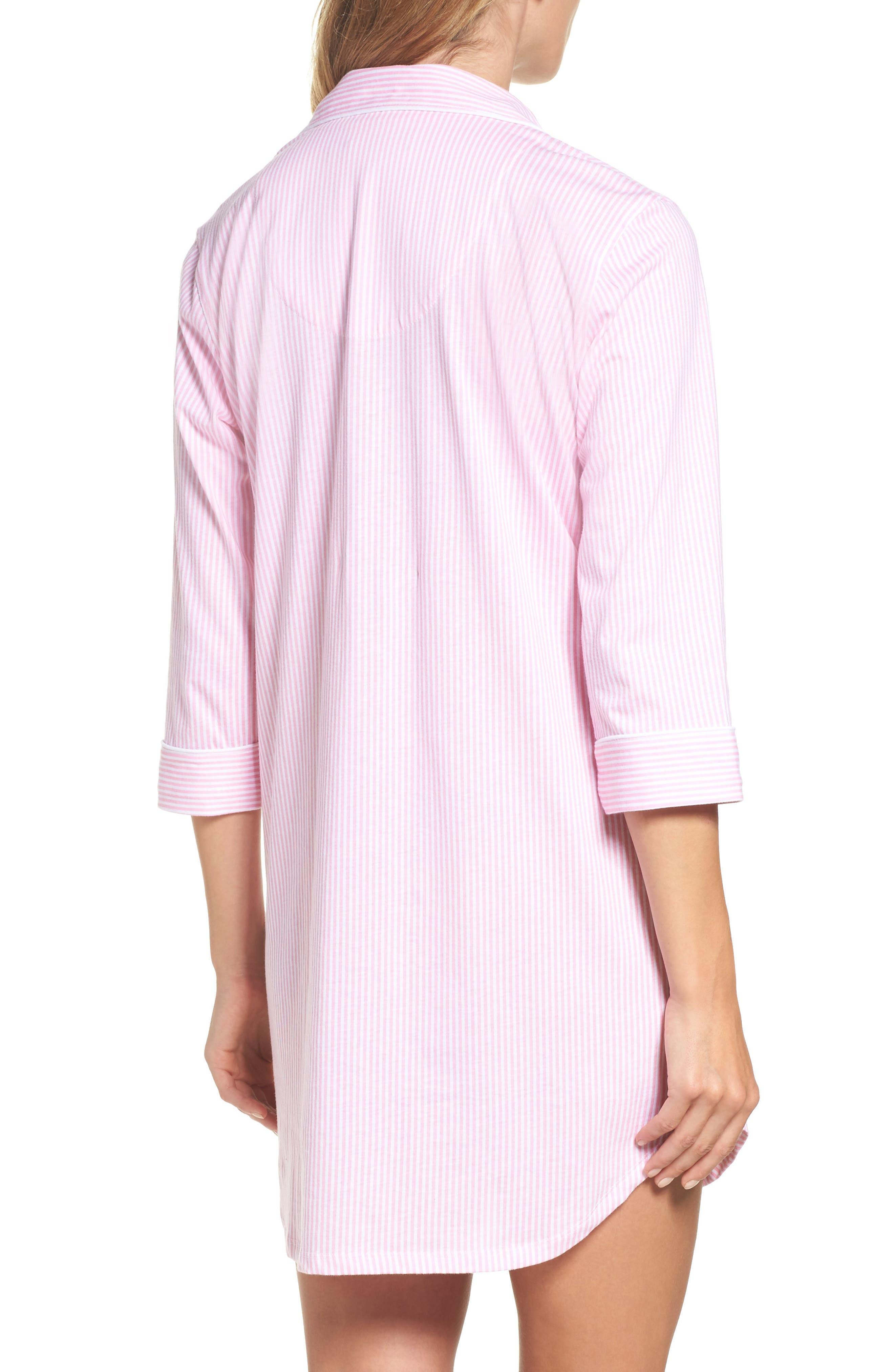 Jersey Sleep Shirt,                             Alternate thumbnail 20, color,