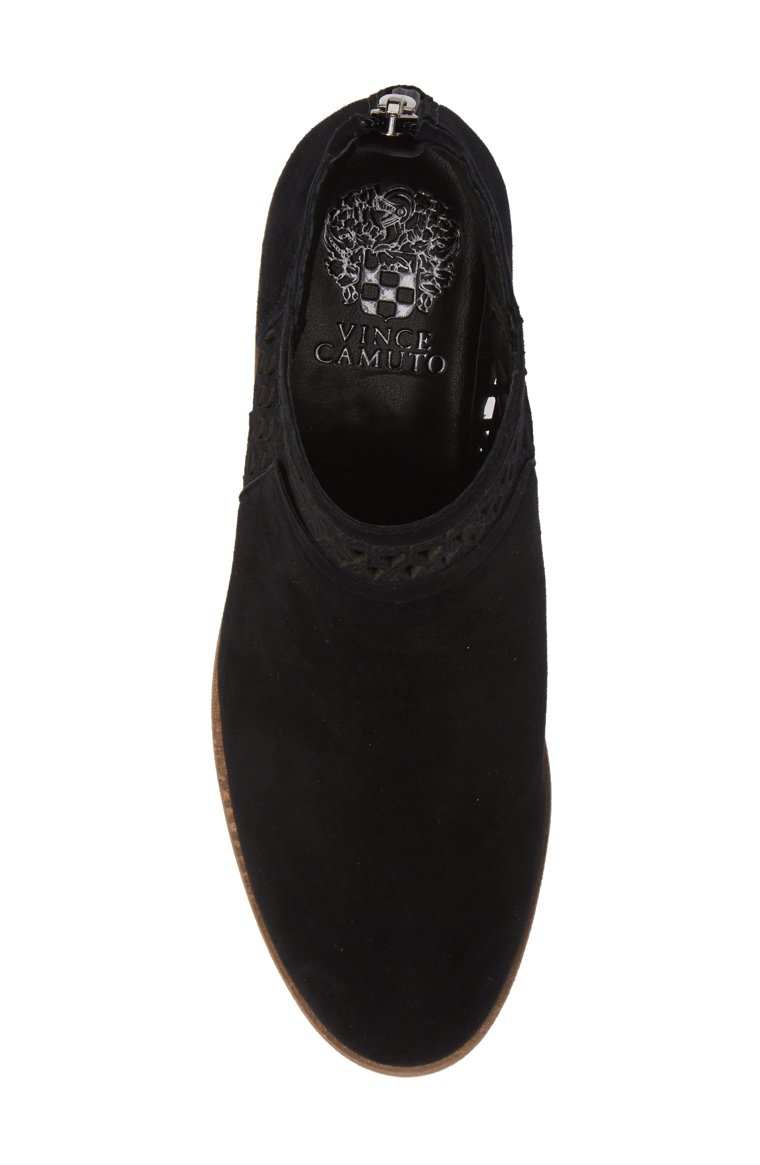 Perdula Boot,                             Alternate thumbnail 5, color,                             BLACK SUEDE