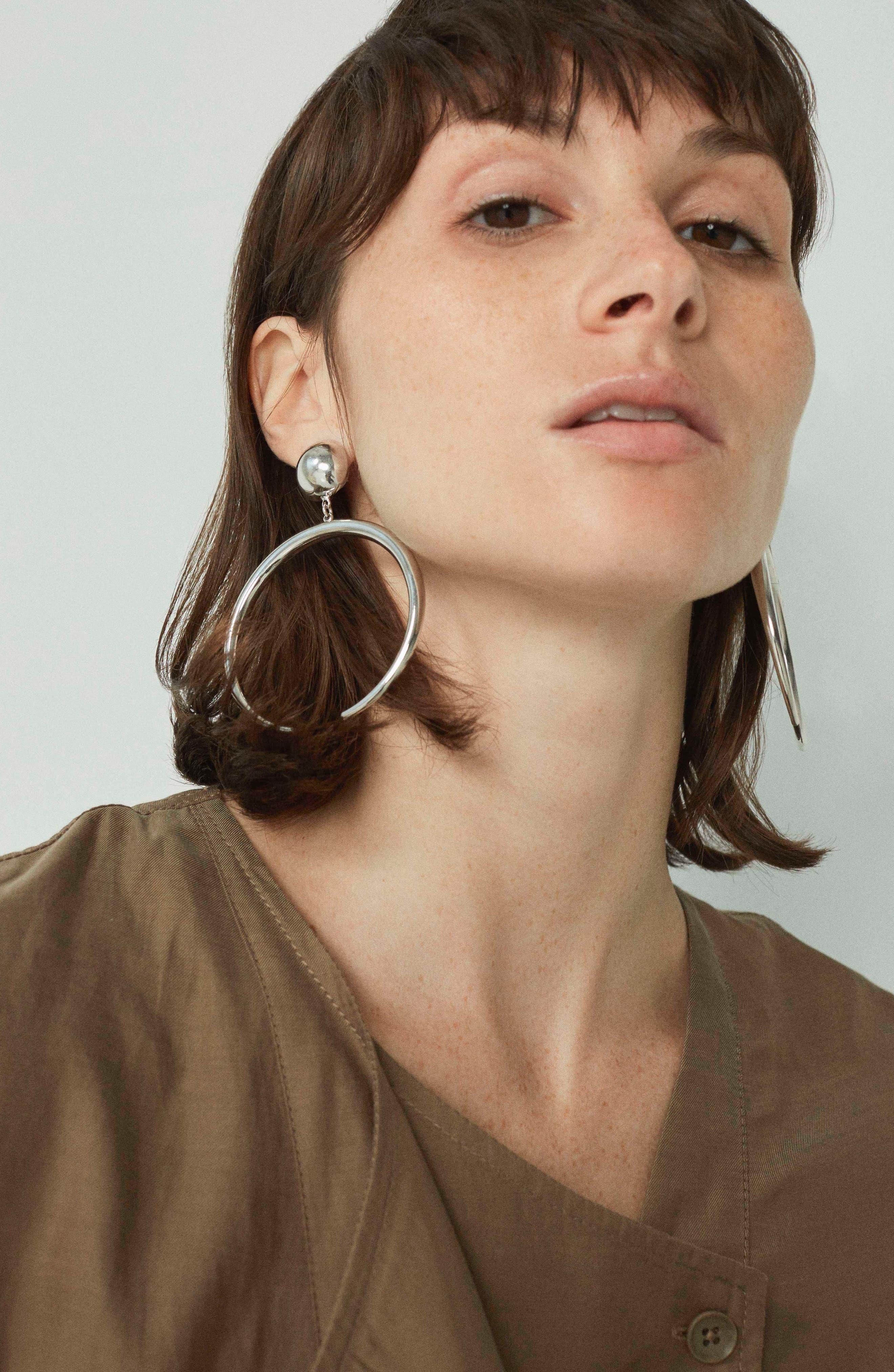 The Factory Drop Earrings,                             Alternate thumbnail 4, color,                             040