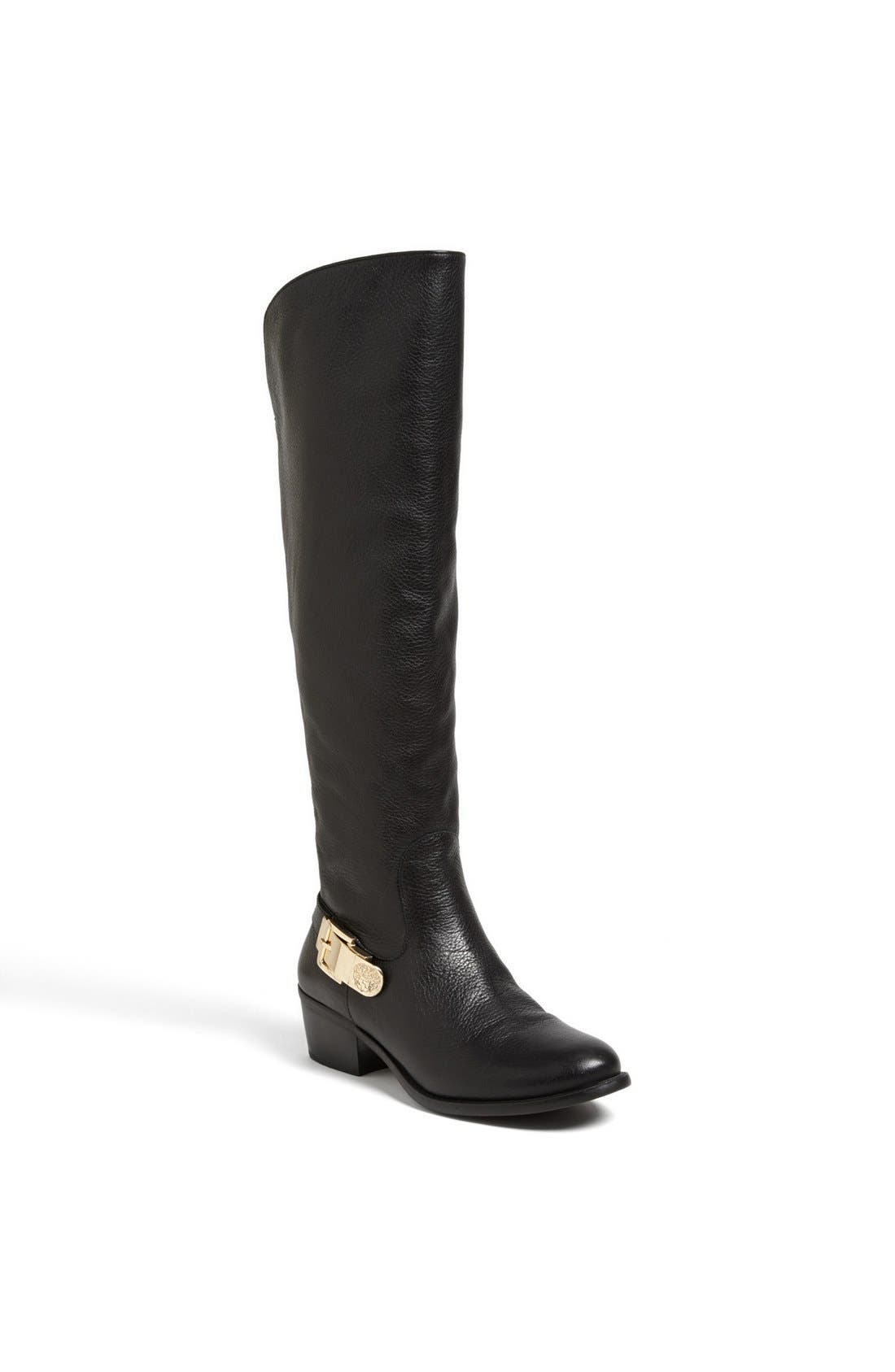 'Bedina' Over the Knee Boot, Main, color, 001