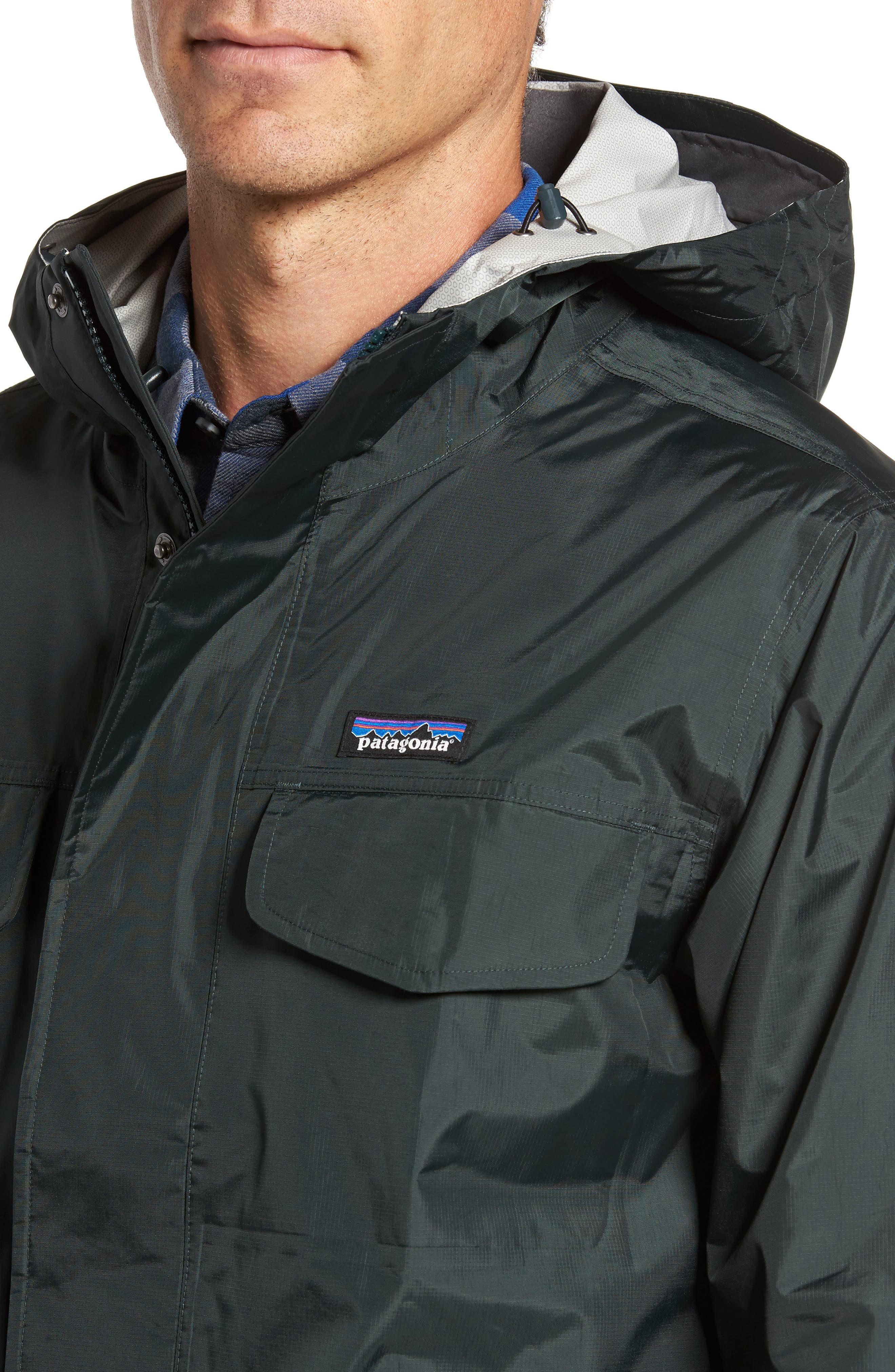 Torrentshell Waterproof Jacket,                             Alternate thumbnail 4, color,                             001