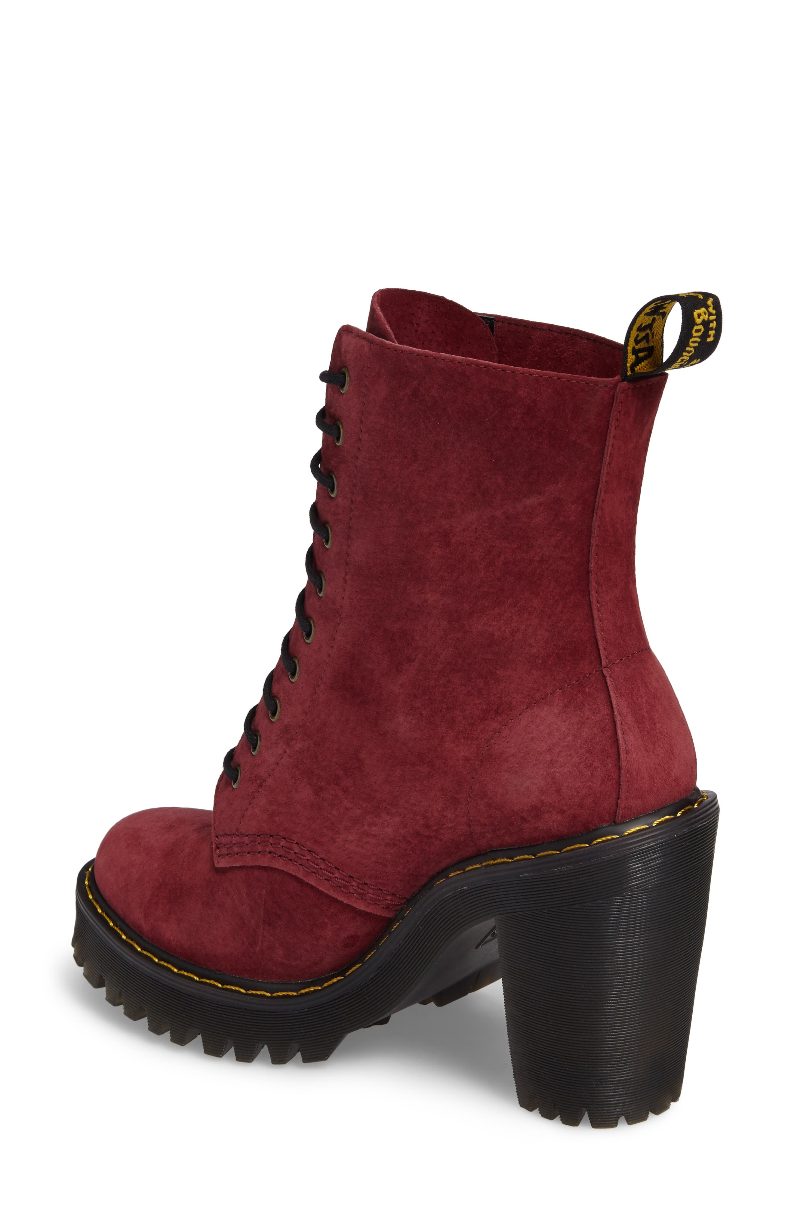 Kendra Heeled Bootie,                             Alternate thumbnail 4, color,