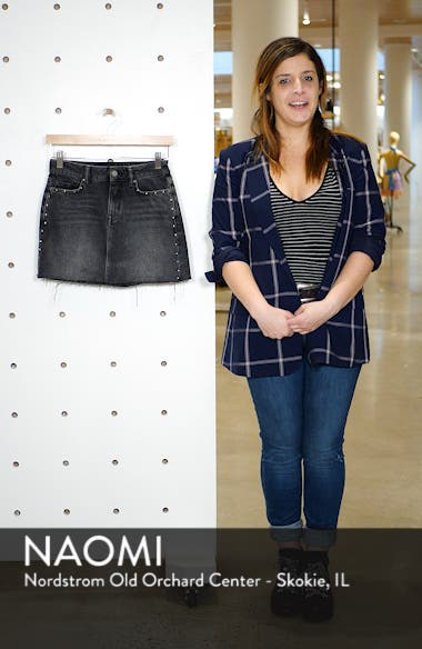 Studded Denim Skirt, sales video thumbnail