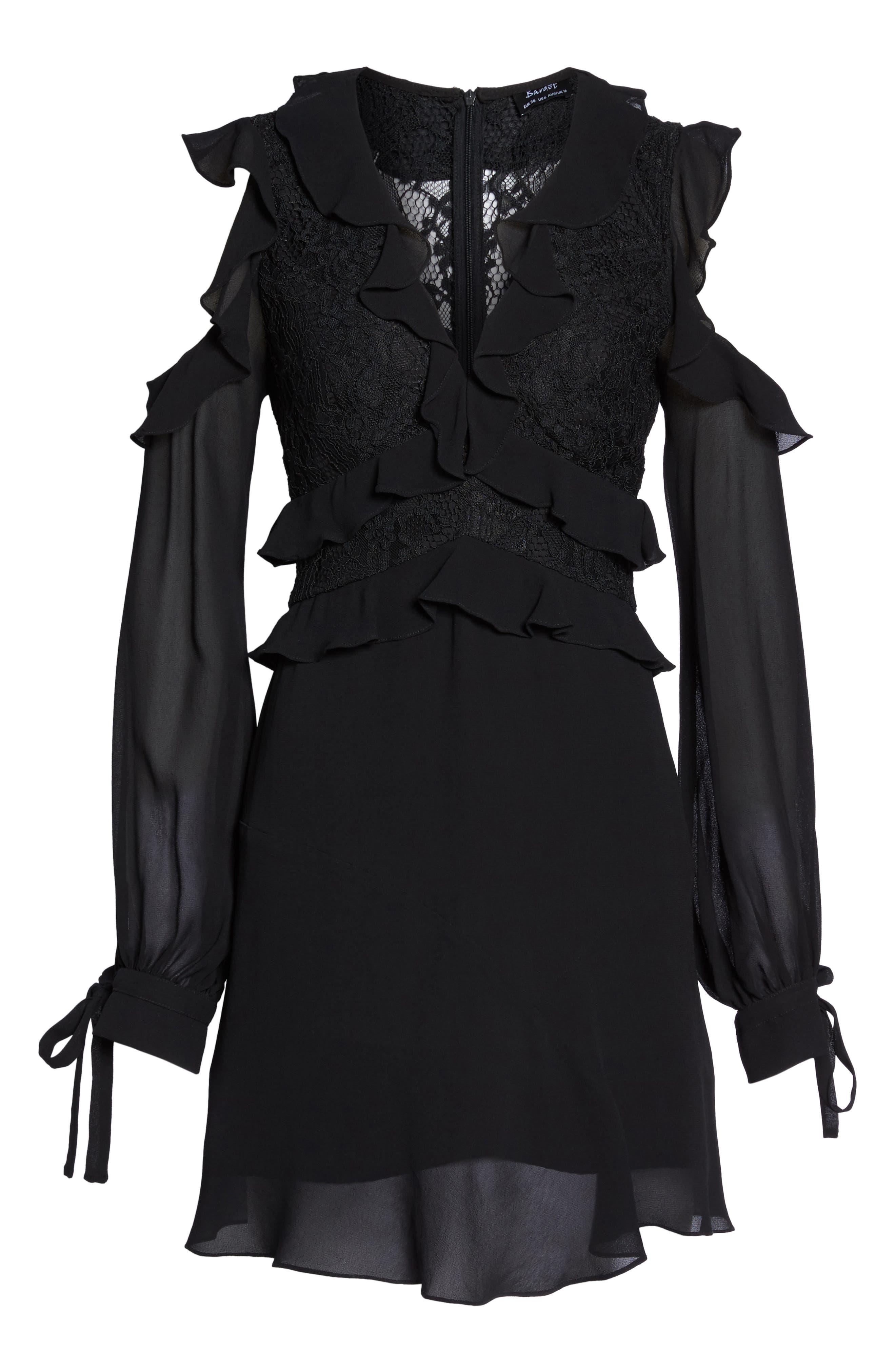 Florentine Cold Shoulder Dress,                             Alternate thumbnail 6, color,