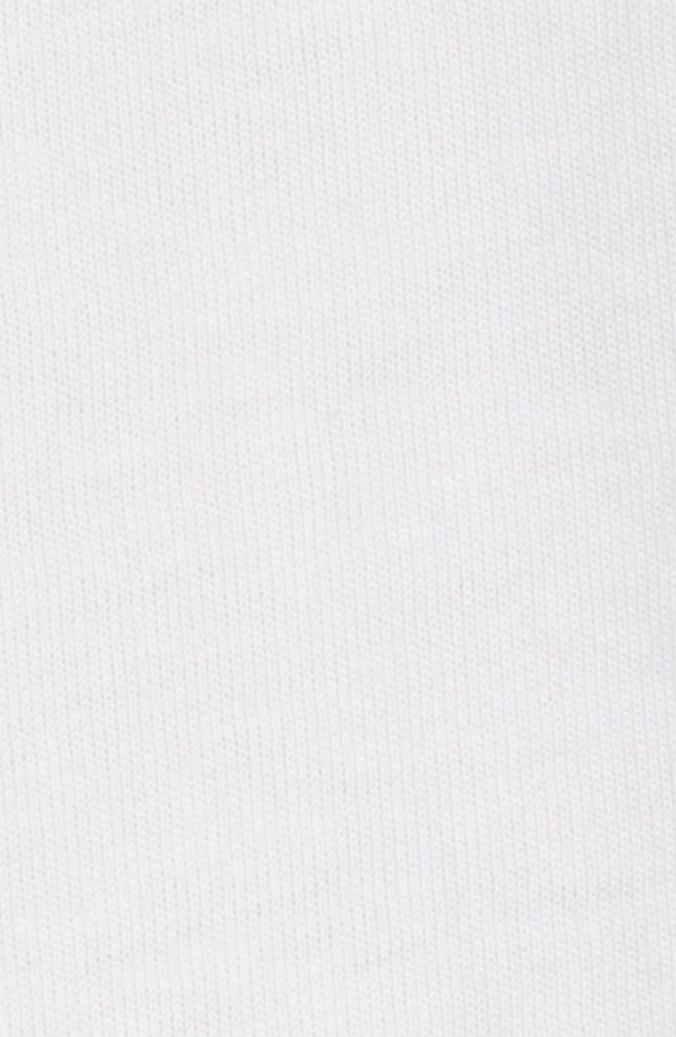 Ruffled Colorblock Top,                             Alternate thumbnail 5, color,                             WHITE