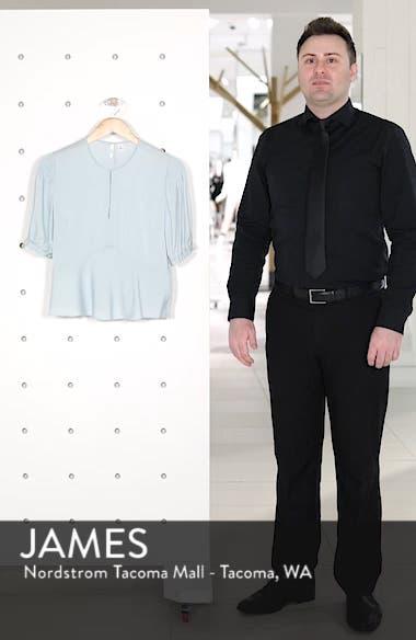 Puffed Sleeve Print Top, sales video thumbnail