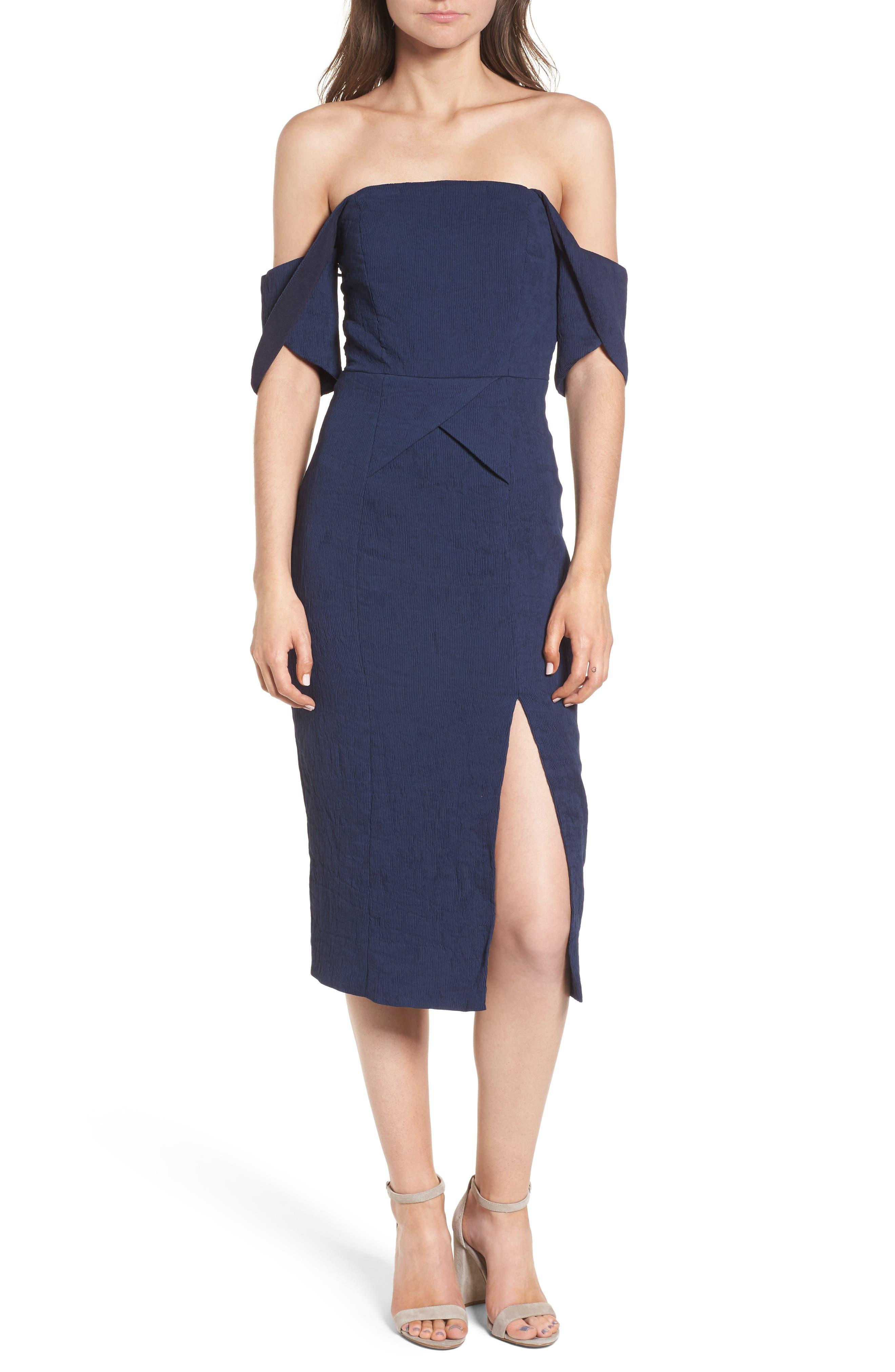 Acacia Off the Shoulder Dress,                         Main,                         color, 400