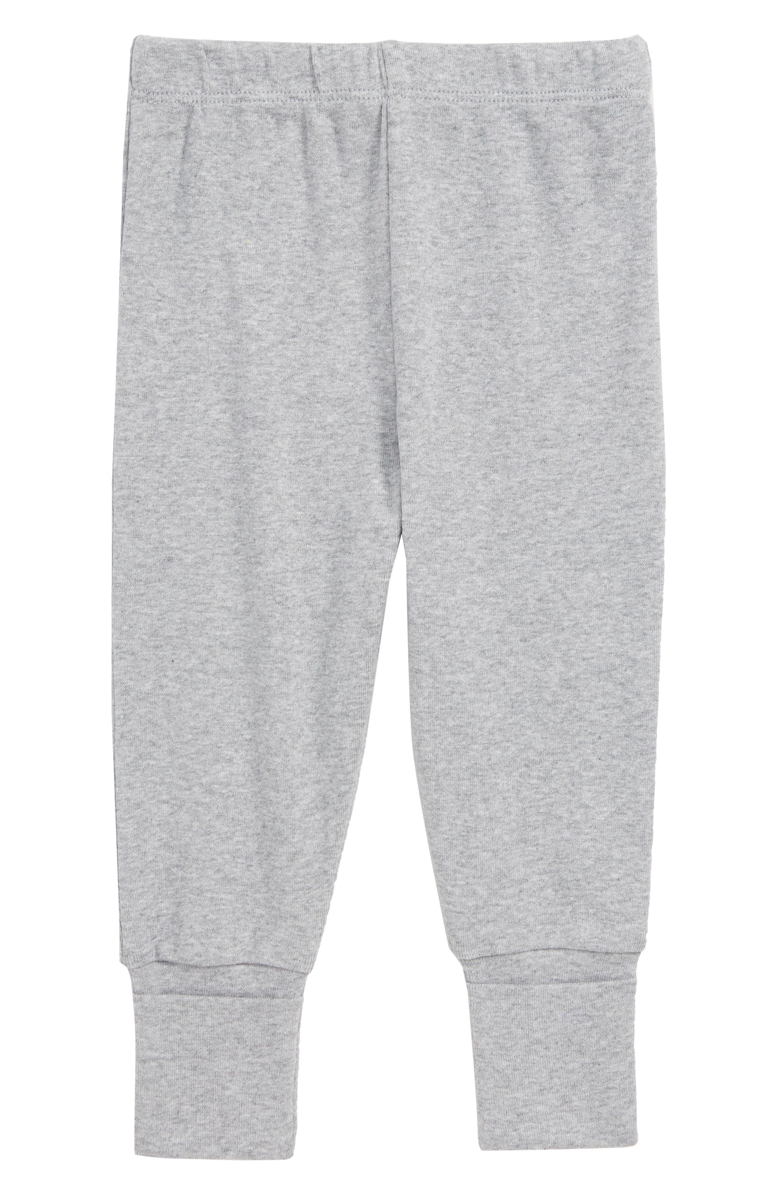 Hello Baby Organic Cotton Sweatpants,                             Main thumbnail 1, color,                             020
