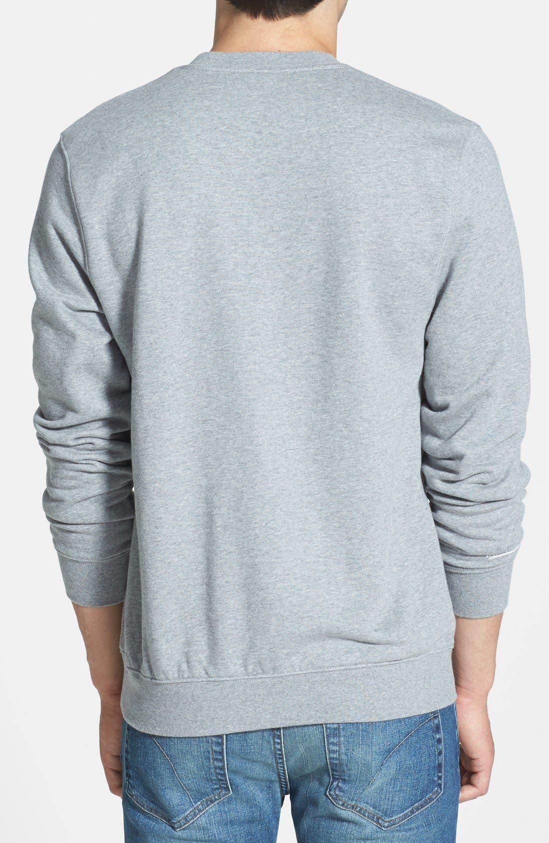 'Boston Red Sox' Crewneck Sweatshirt,                             Alternate thumbnail 3, color,                             061