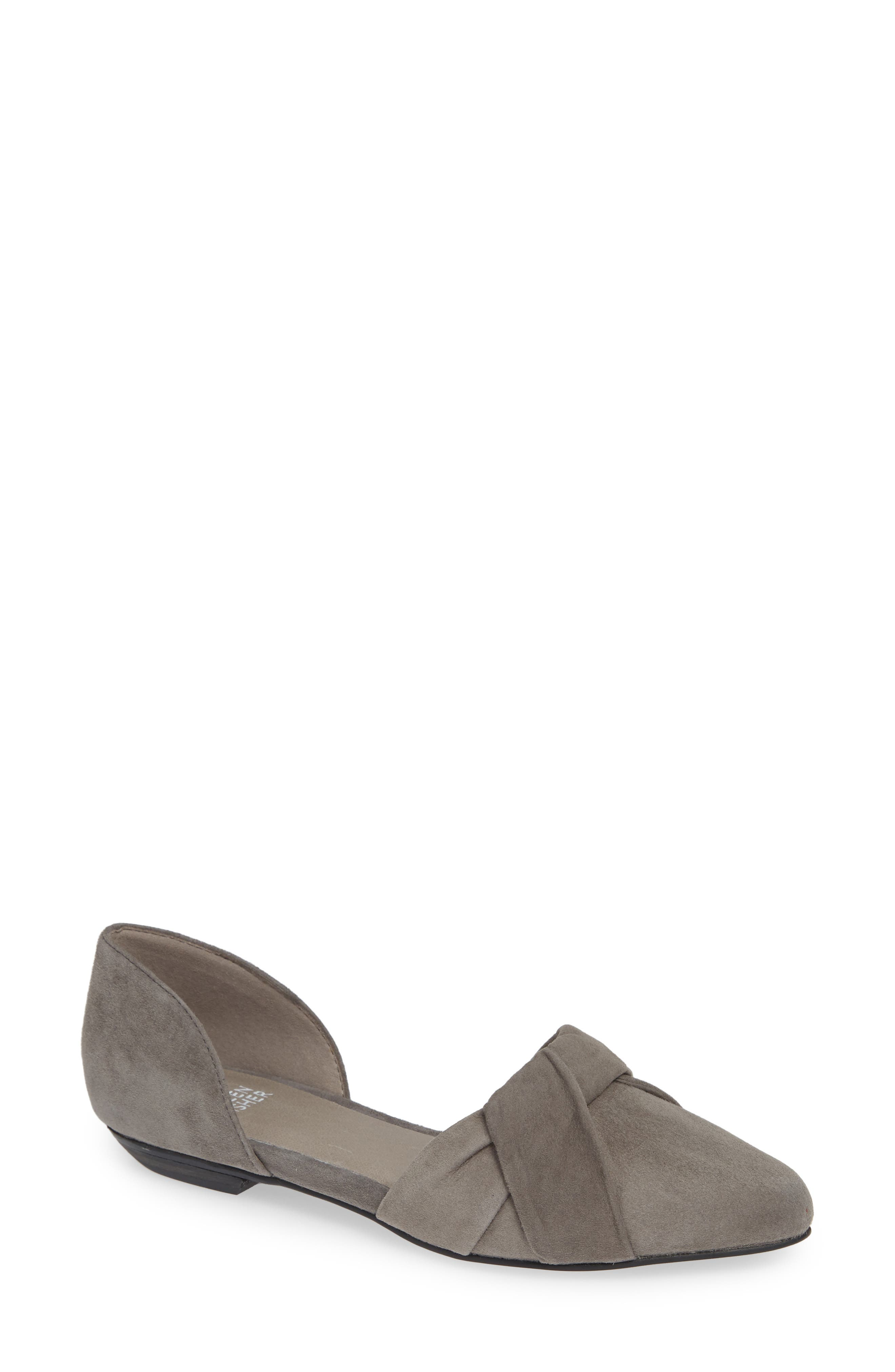 d'Orsay Flat, Main, color, GRAPHITE SUEDE