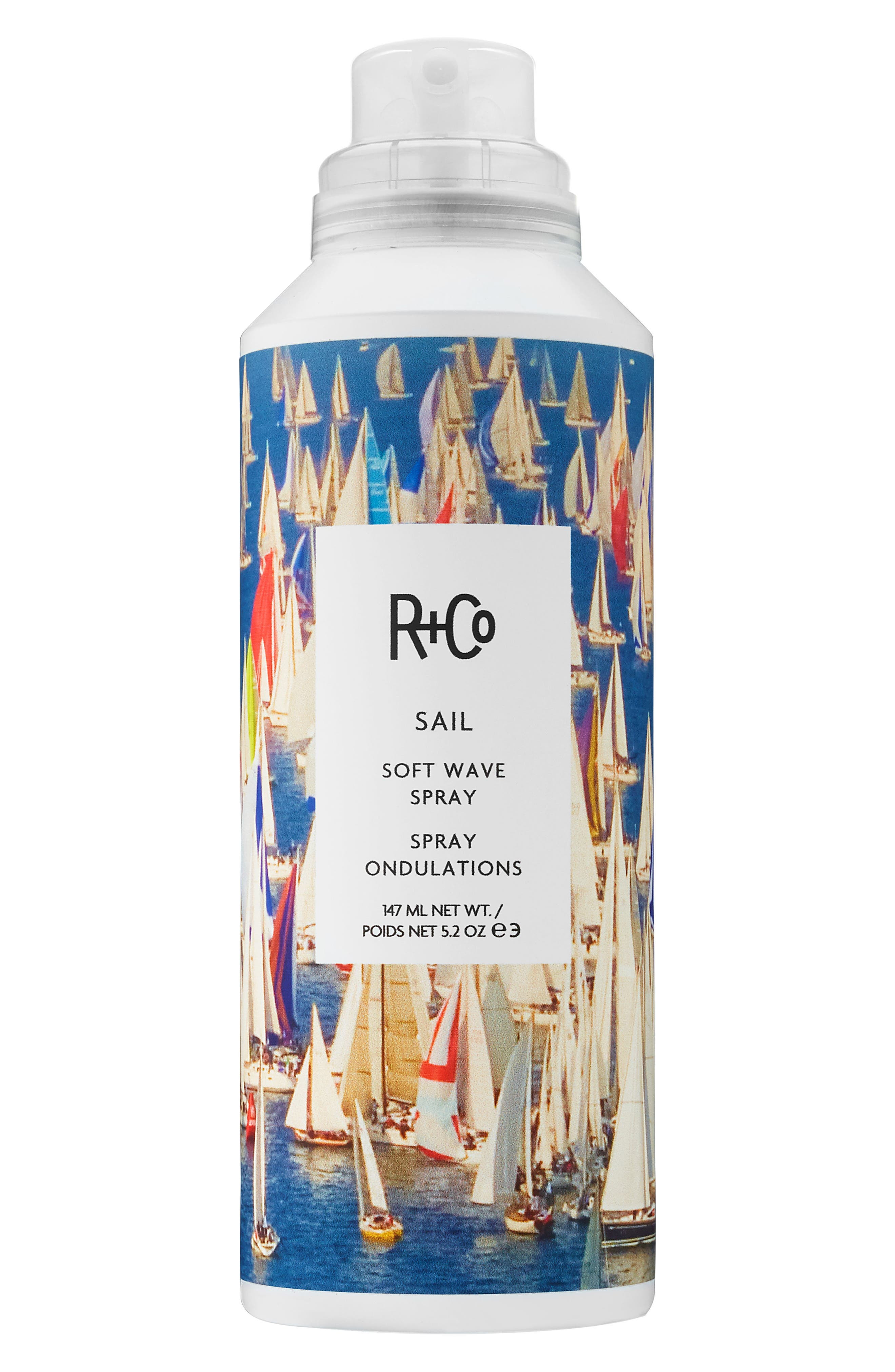 SPACE.NK.apothecary R+Co Sail Soft Wave Spray,                             Main thumbnail 1, color,                             NO COLOR