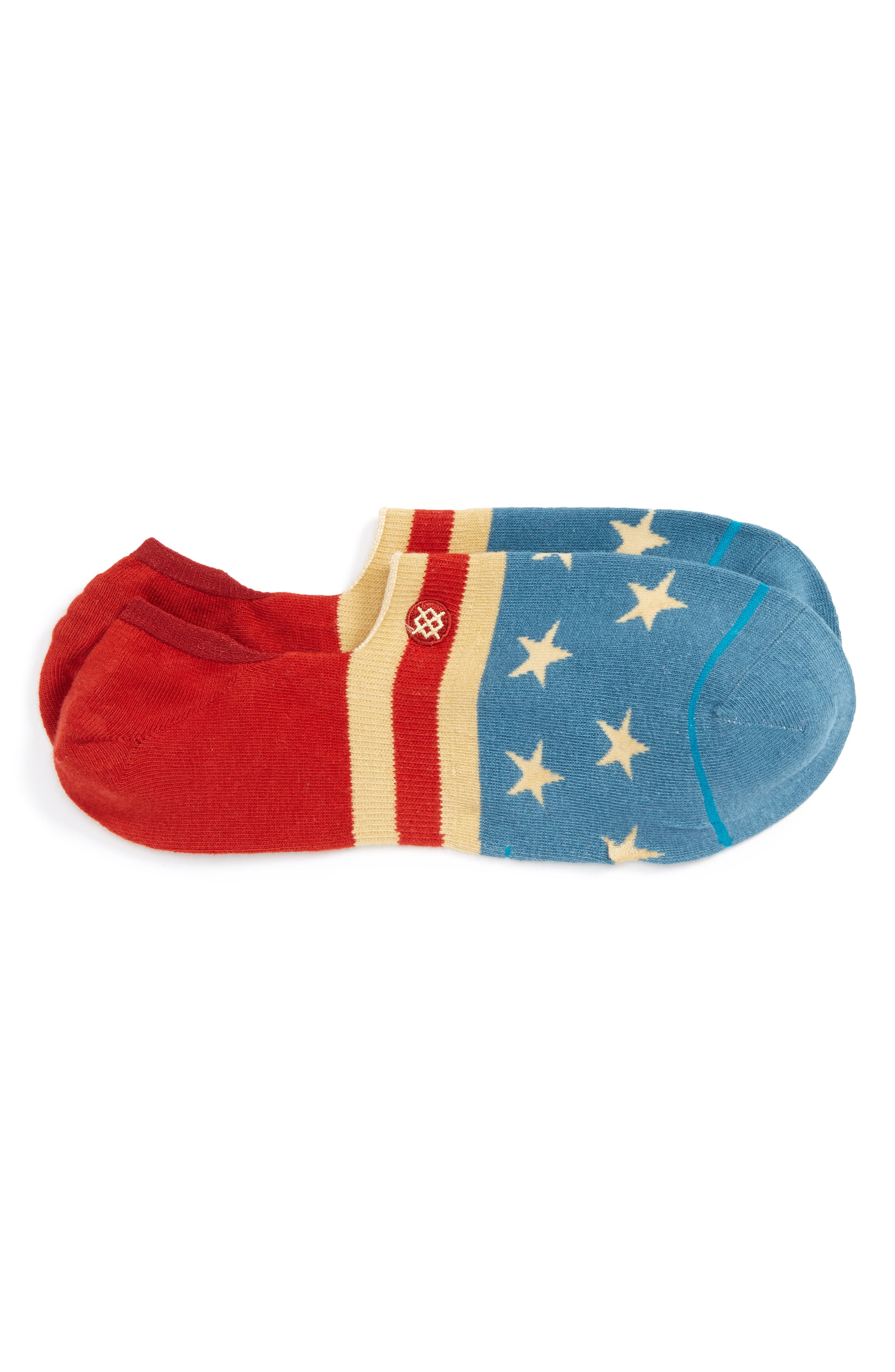 The Fourth No-Show Socks,                         Main,                         color,