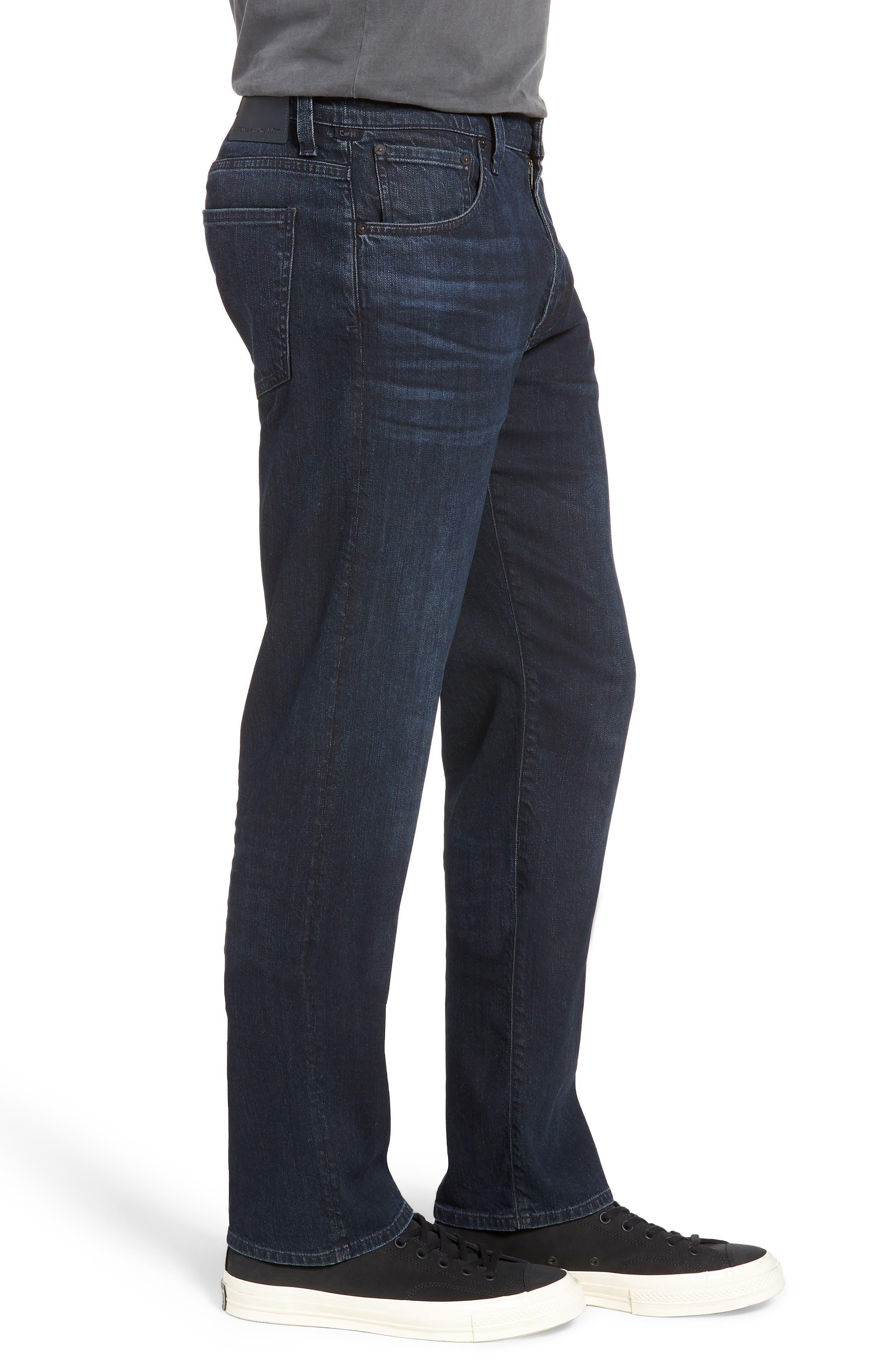 Sid Straight Leg Jeans,                             Alternate thumbnail 3, color,                             410