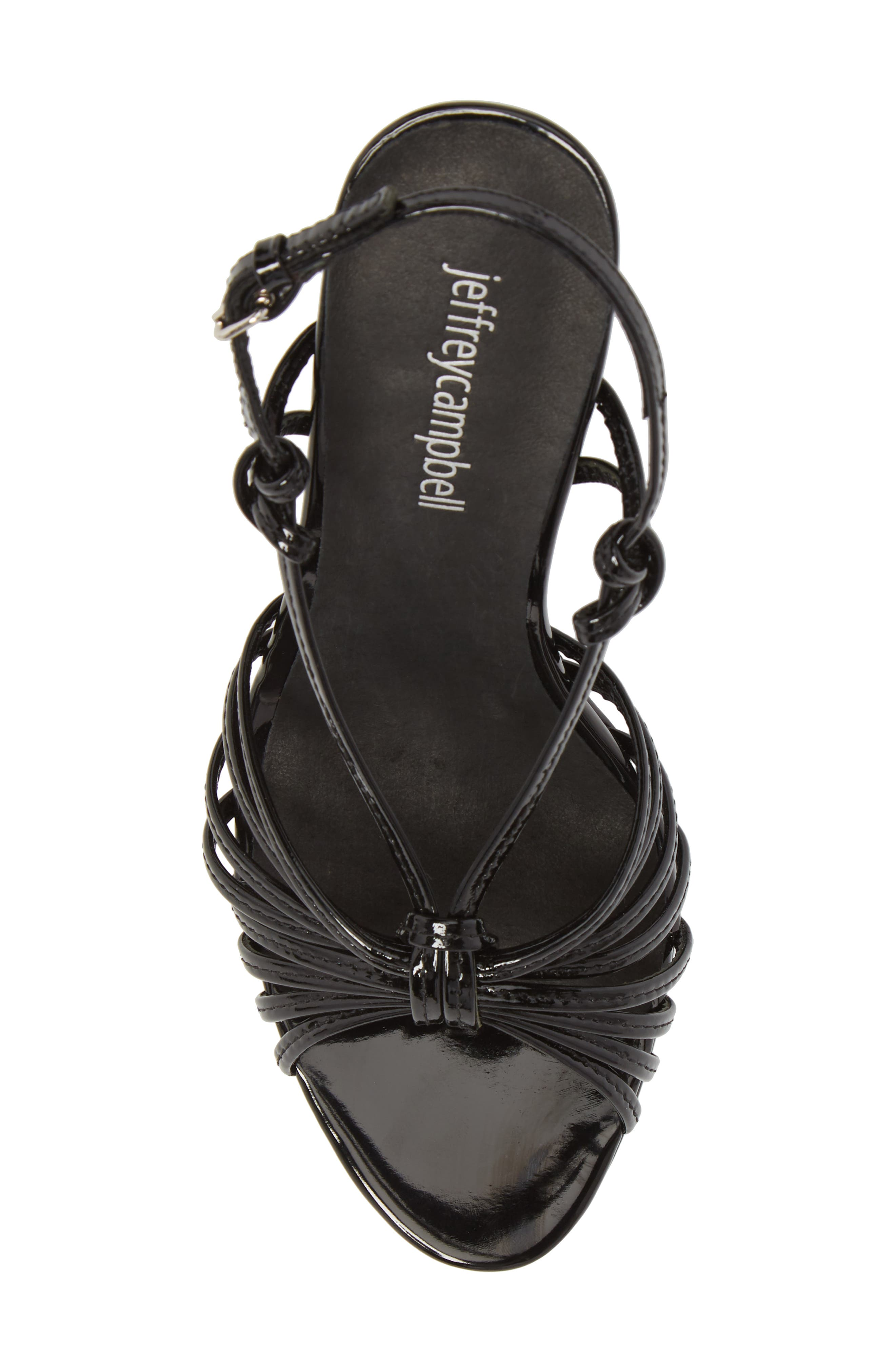 Stun Platform Sandal,                             Alternate thumbnail 5, color,                             001
