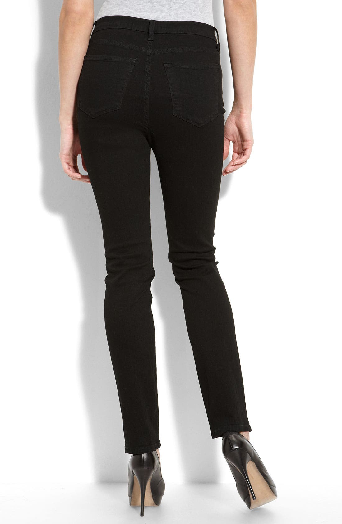 Not Your Daughter's Jeans<sup>®</sup> Tummy Tuck<sup>®</sup> Stretch Denim Leggings,                             Alternate thumbnail 2, color,                             001