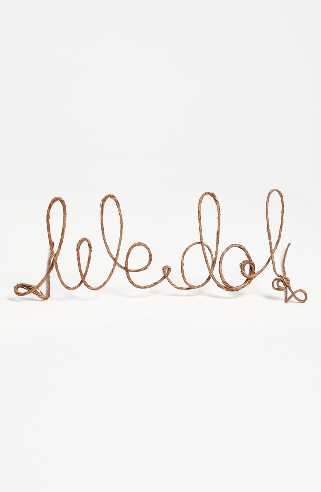 'We Do' Rustic Cake Topper,                             Alternate thumbnail 3, color,                             200