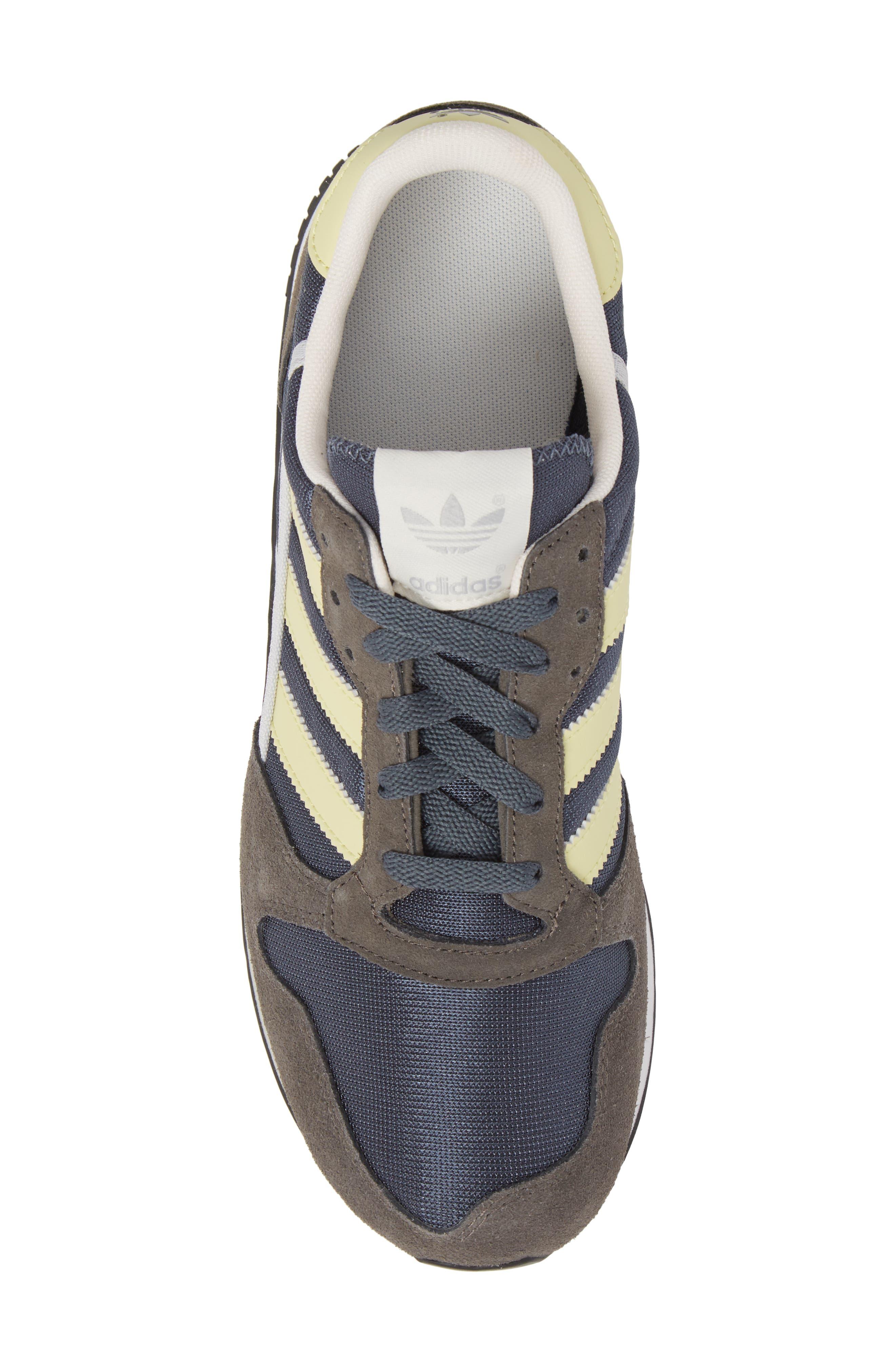 ZX 280 SPZL Sneaker,                             Alternate thumbnail 5, color,                             WHITE/ GREY/ WHITE