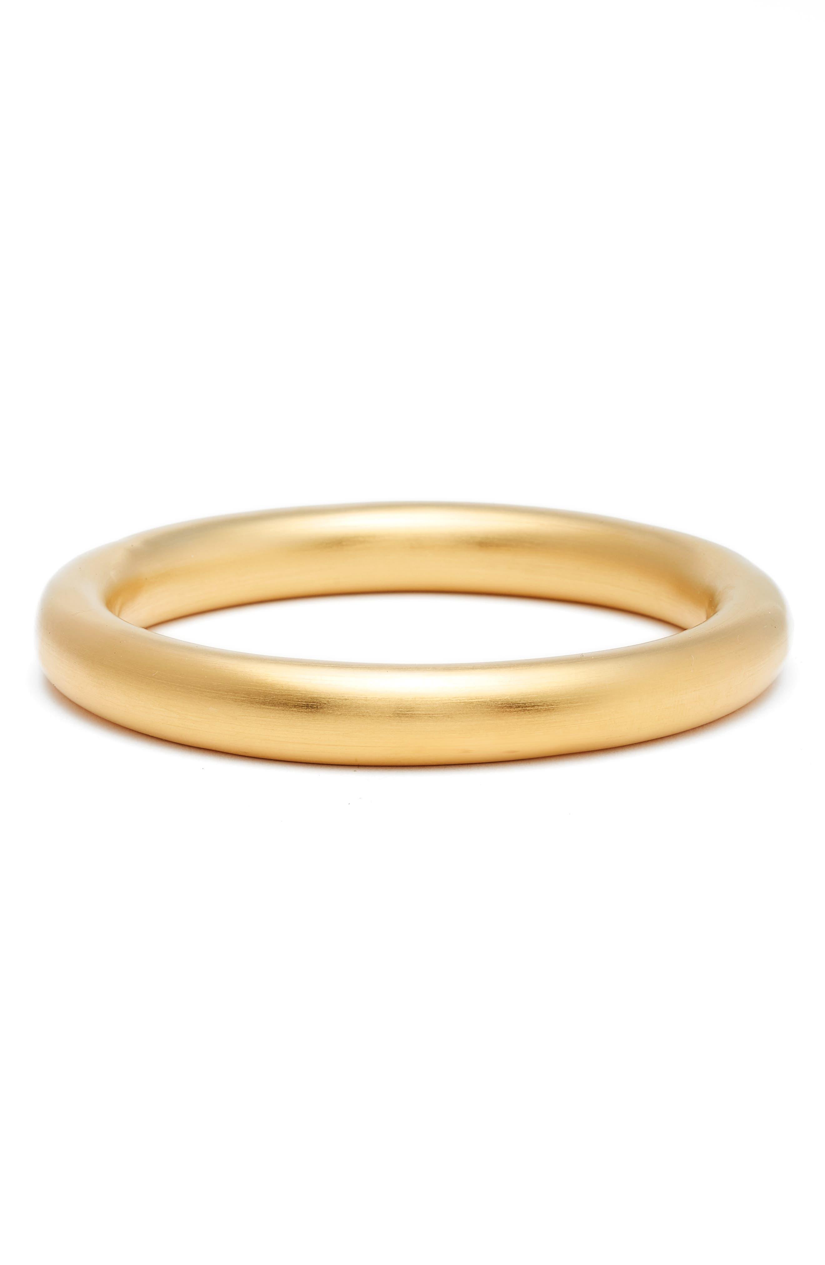 Ipanema Tubular Bangle Bracelet,                             Main thumbnail 1, color,                             GOLD