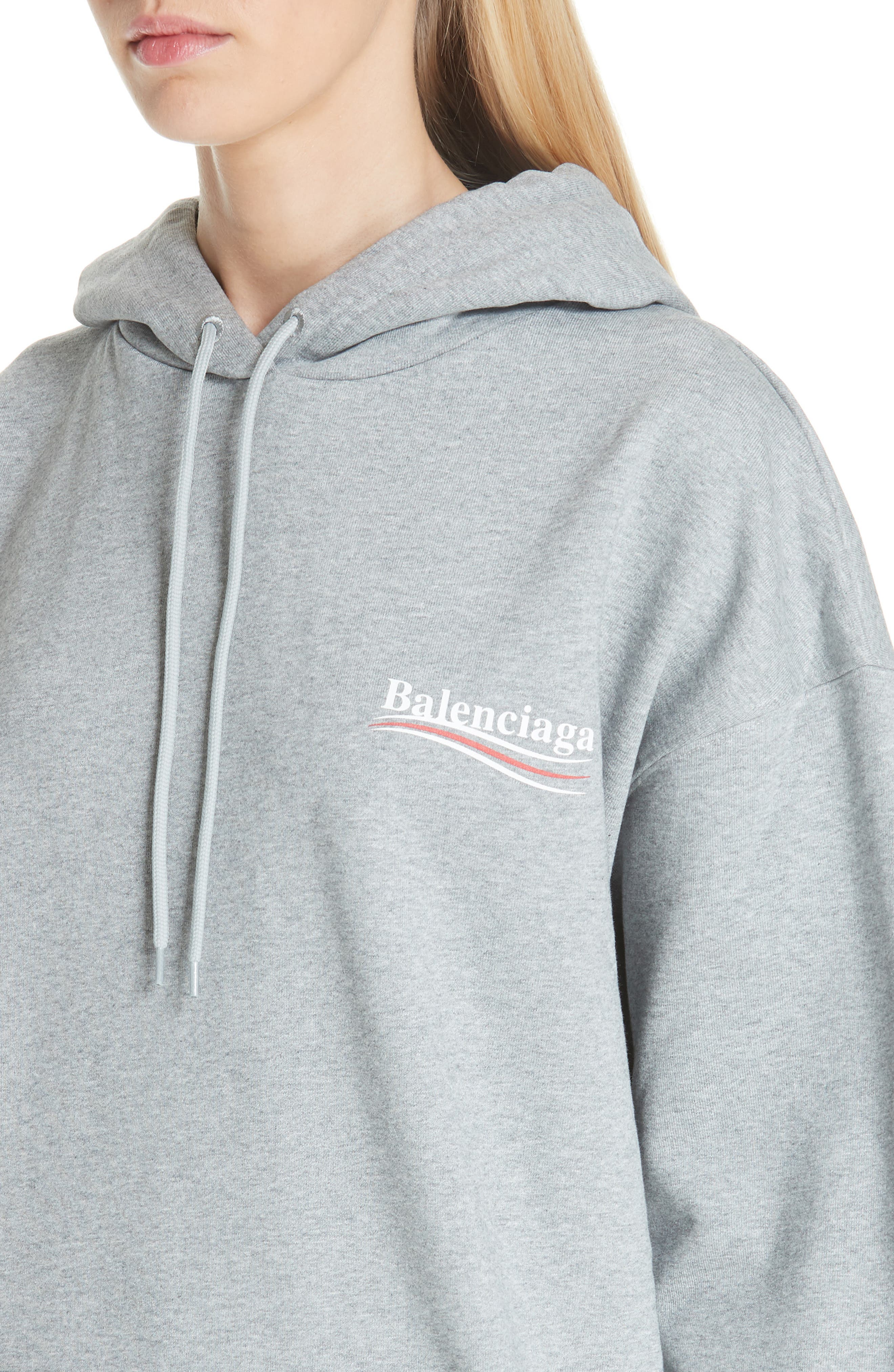 Campaign Logo Hoodie,                             Alternate thumbnail 4, color,                             020