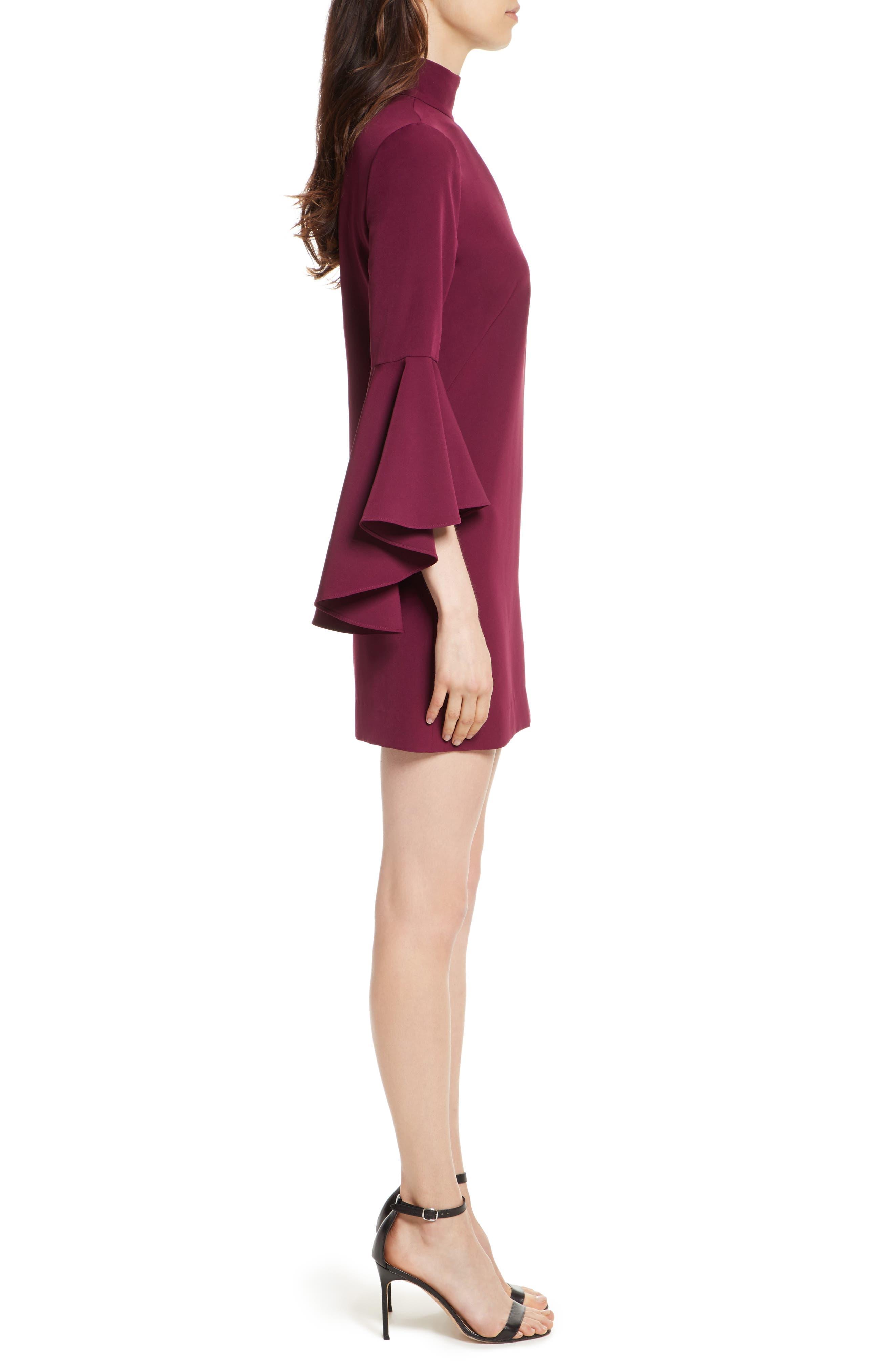 Andrea Italian Cady A-Line Dress,                             Alternate thumbnail 3, color,                             931