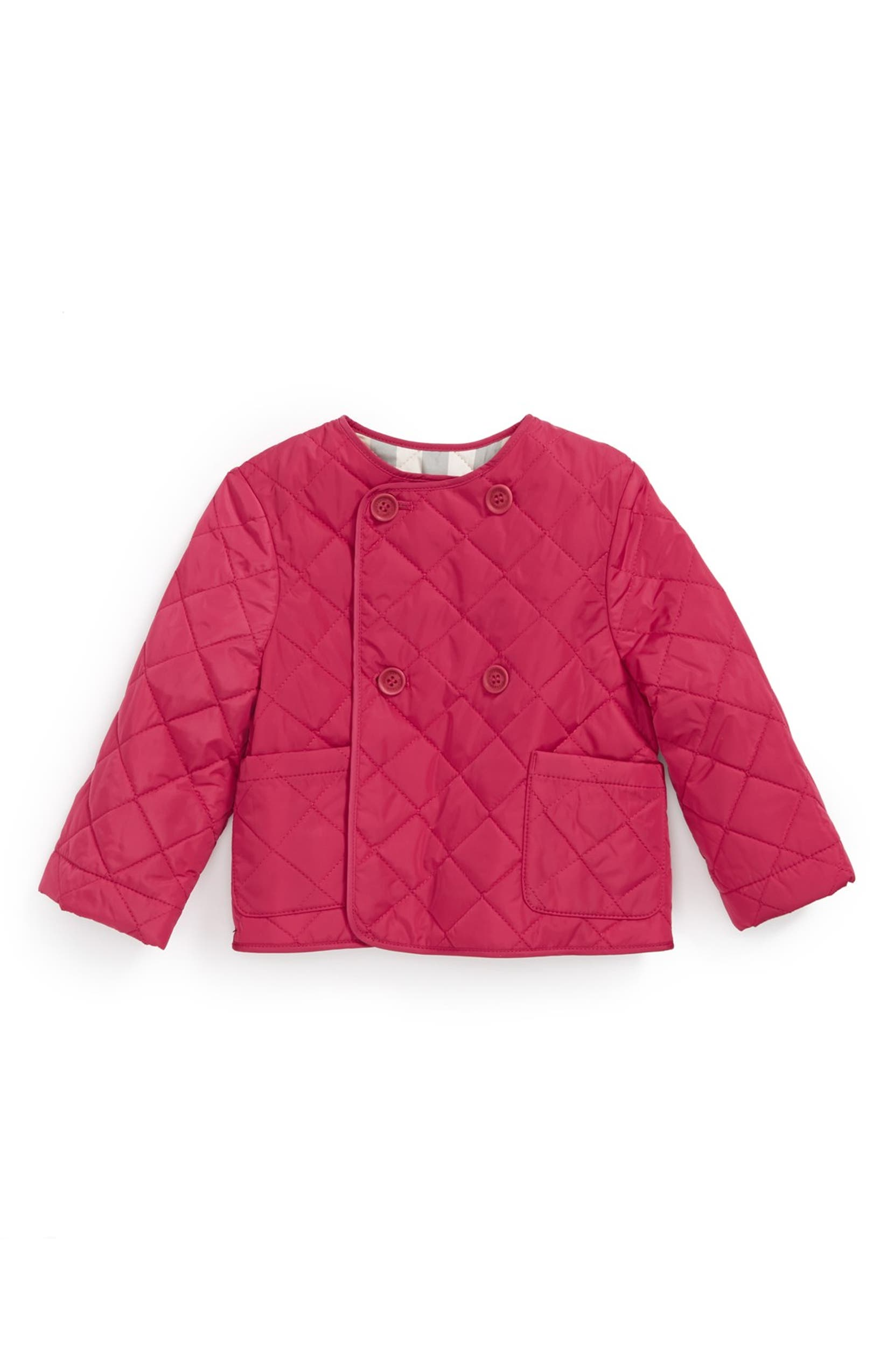 787e6c54c Burberry  Coco  Quilted Jacket (Baby Girls)