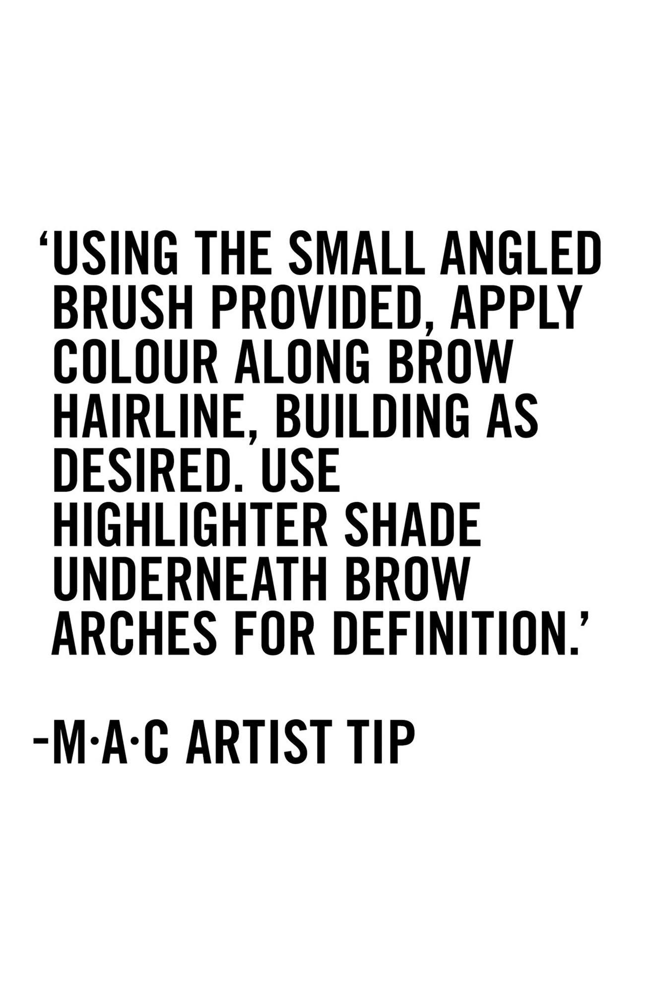 MAC Great Brows All-in-One Brow Kit,                             Alternate thumbnail 2, color,                             TAPERED