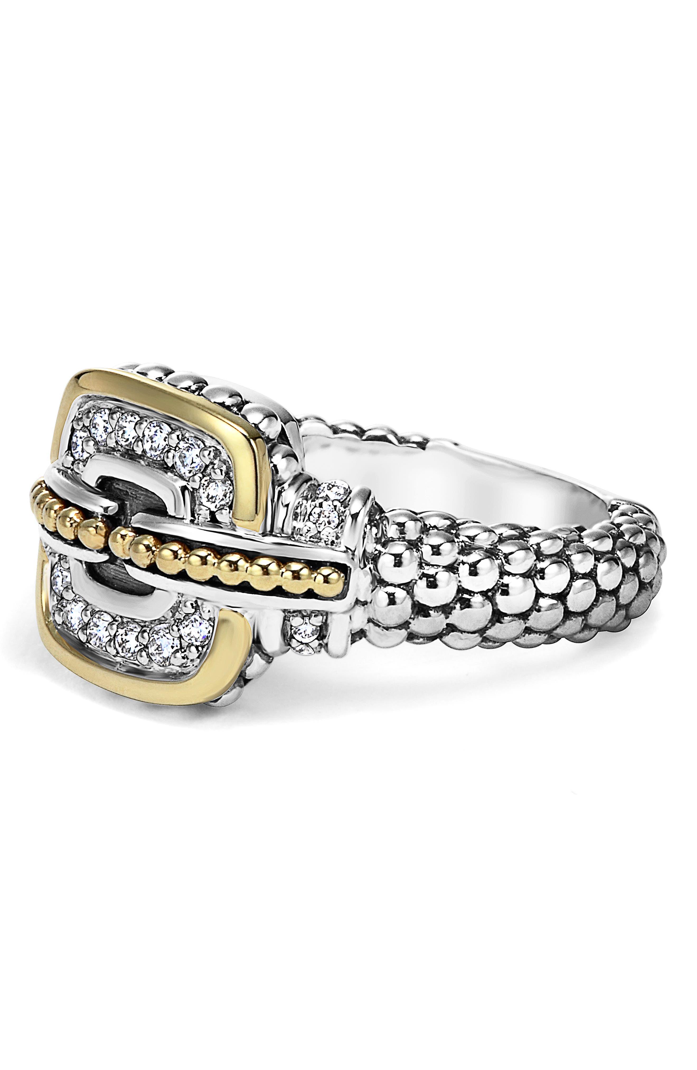 'Cushion' Small Diamond Ring,                             Alternate thumbnail 2, color,                             040