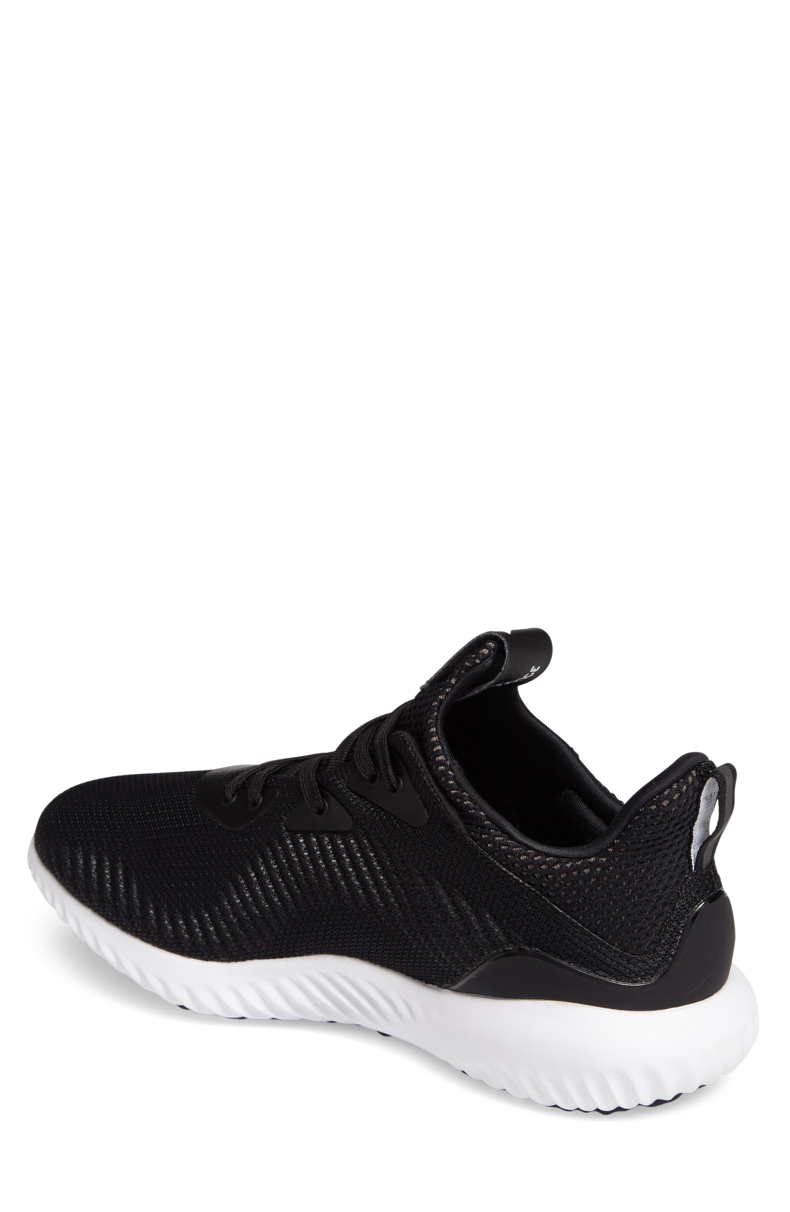 ADIDAS,                             AlphaBounce Running Shoe,                             Alternate thumbnail 2, color,                             002