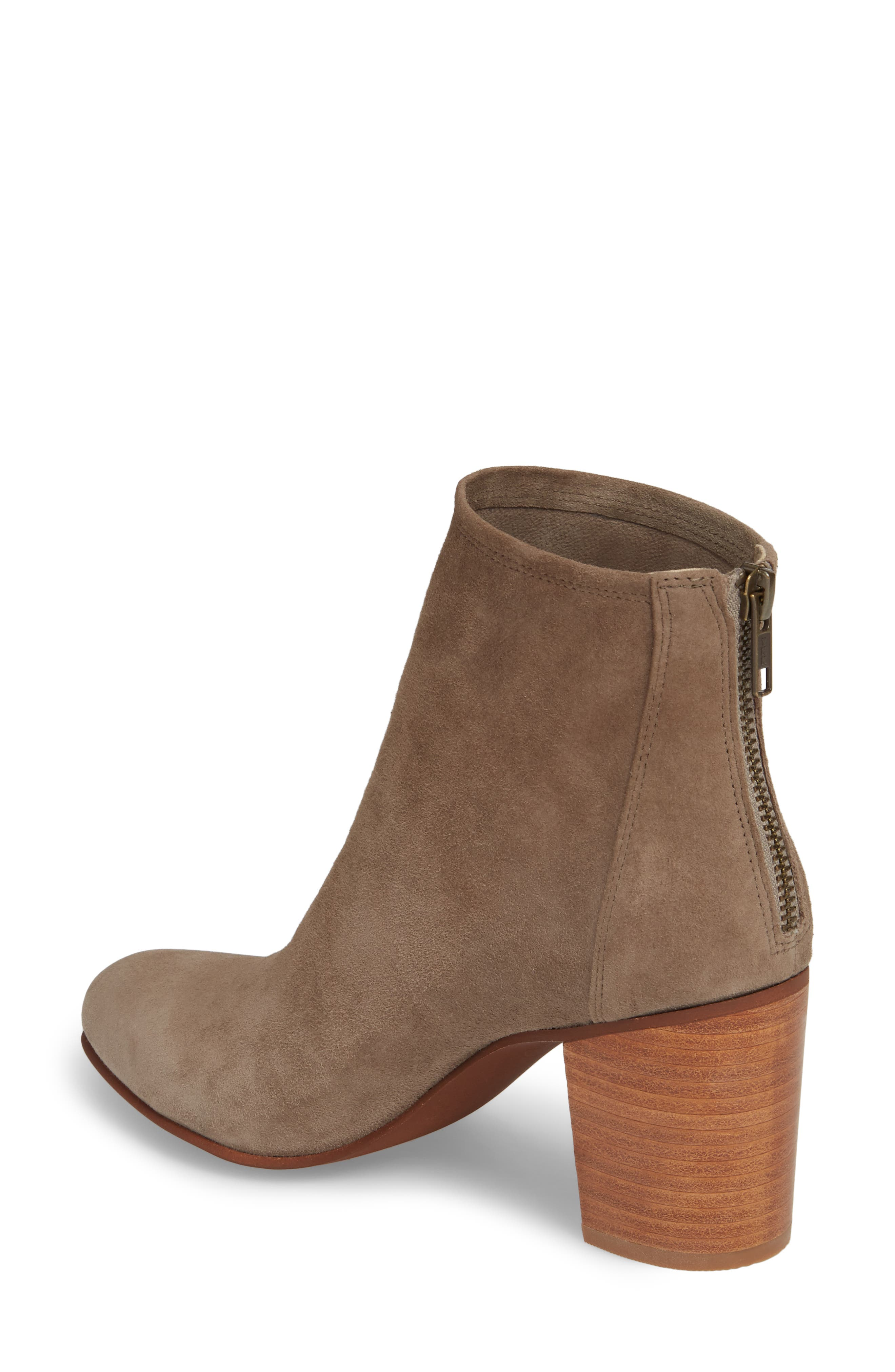 Tawny Bootie,                             Alternate thumbnail 2, color,                             GREY SUEDE
