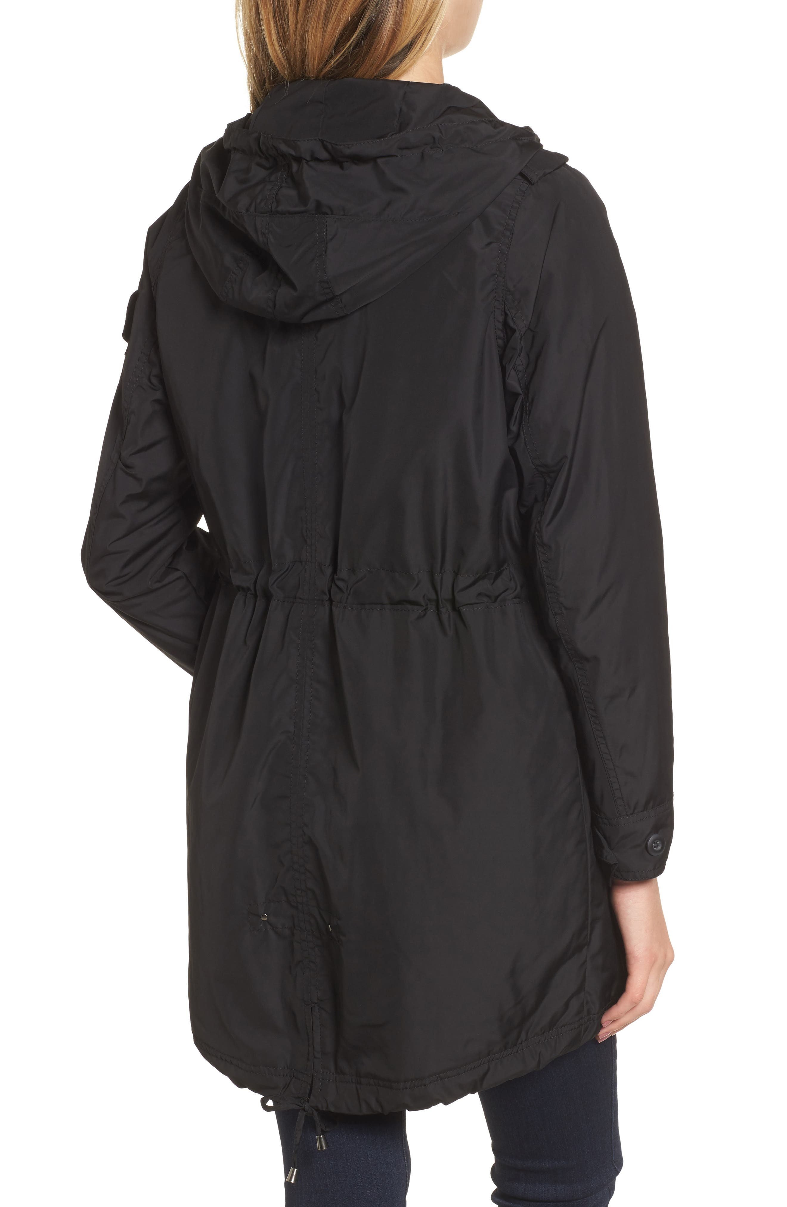Hooded Water Repellent Anorak,                             Alternate thumbnail 2, color,                             001