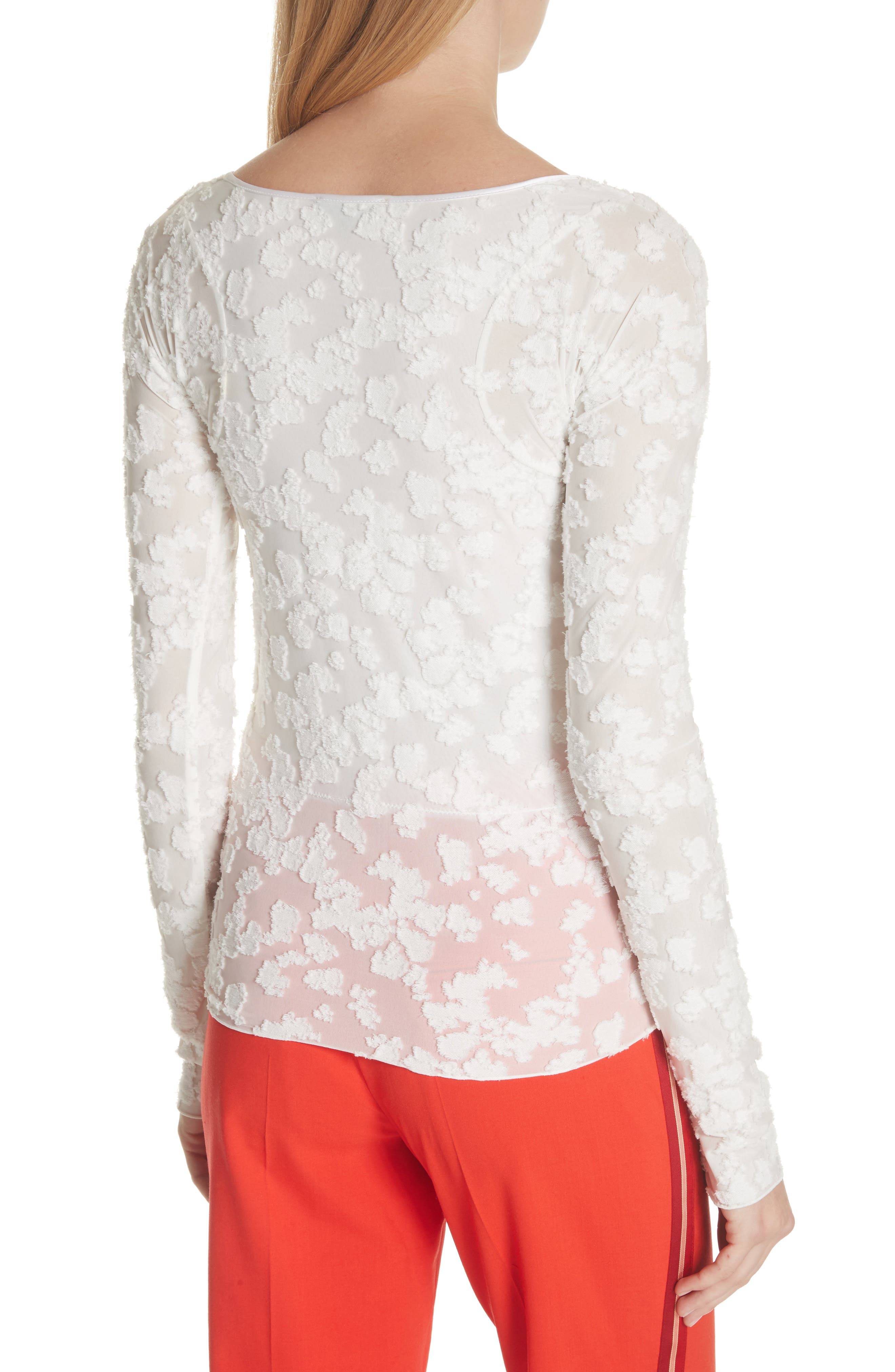 Lucie Floral Jacquard Sweater,                             Alternate thumbnail 2, color,