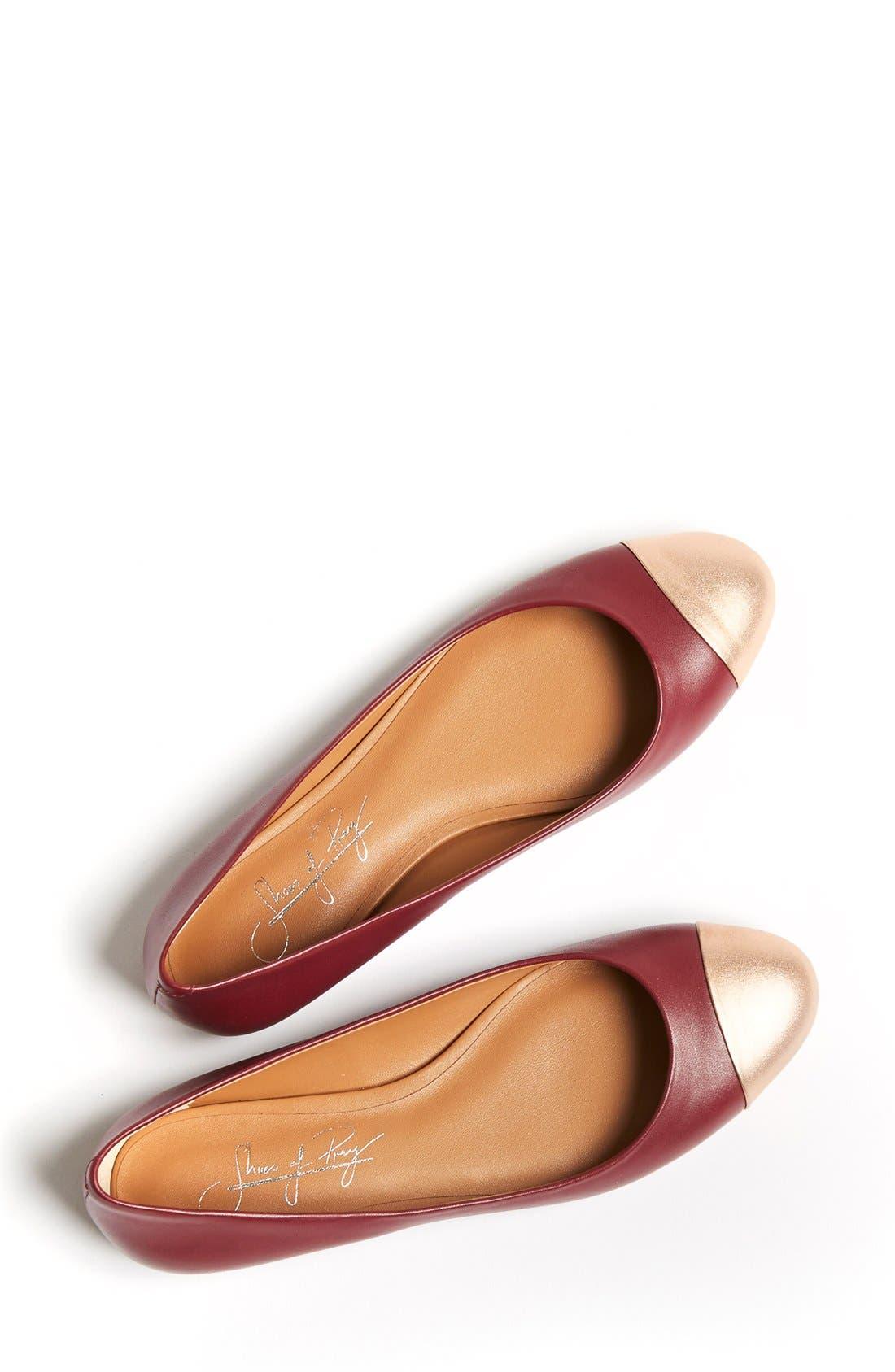 Cap Toe Ballet Flat,                             Alternate thumbnail 69, color,
