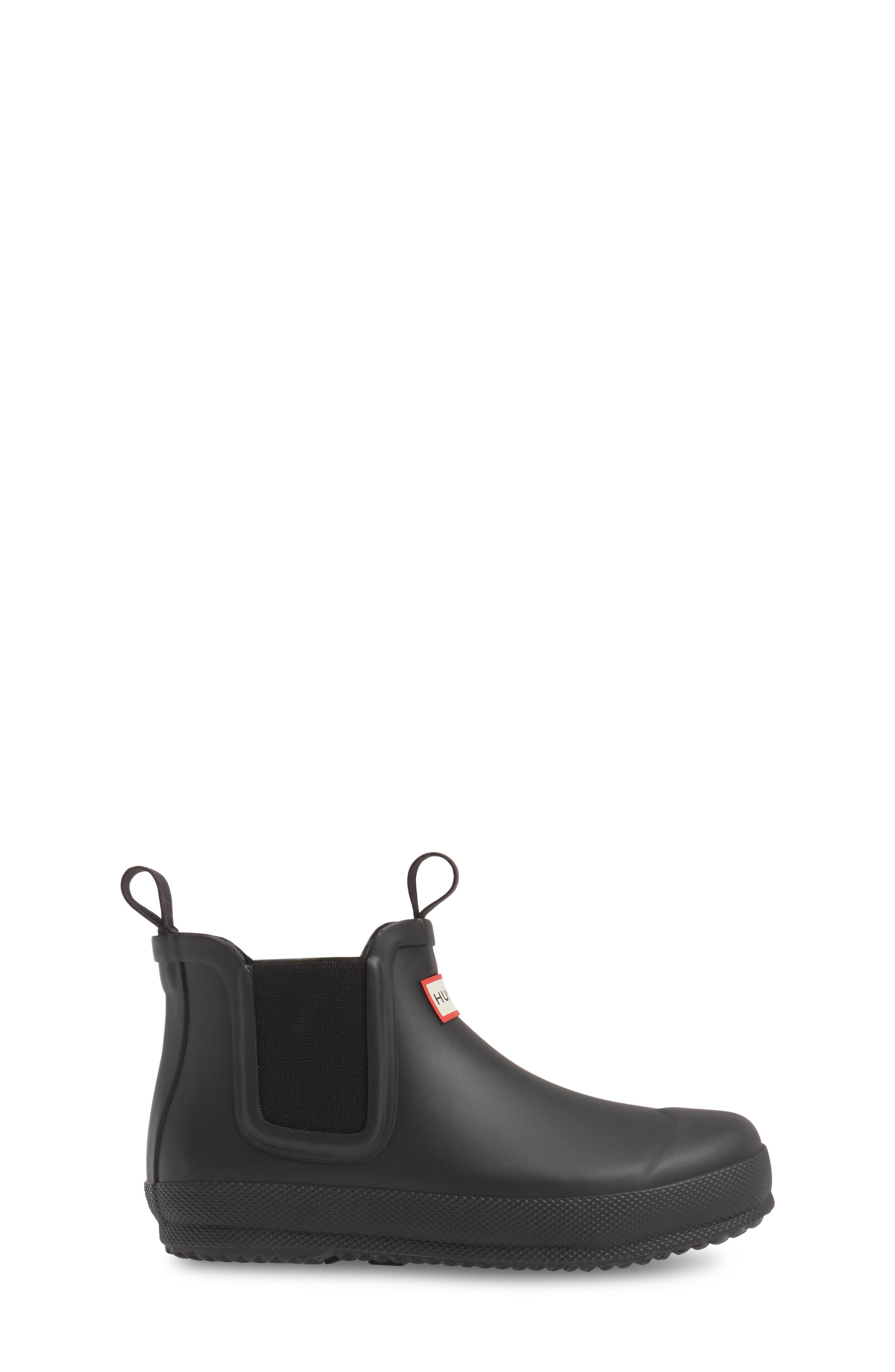 Original Waterproof Chelsea Boot,                             Alternate thumbnail 3, color,                             001