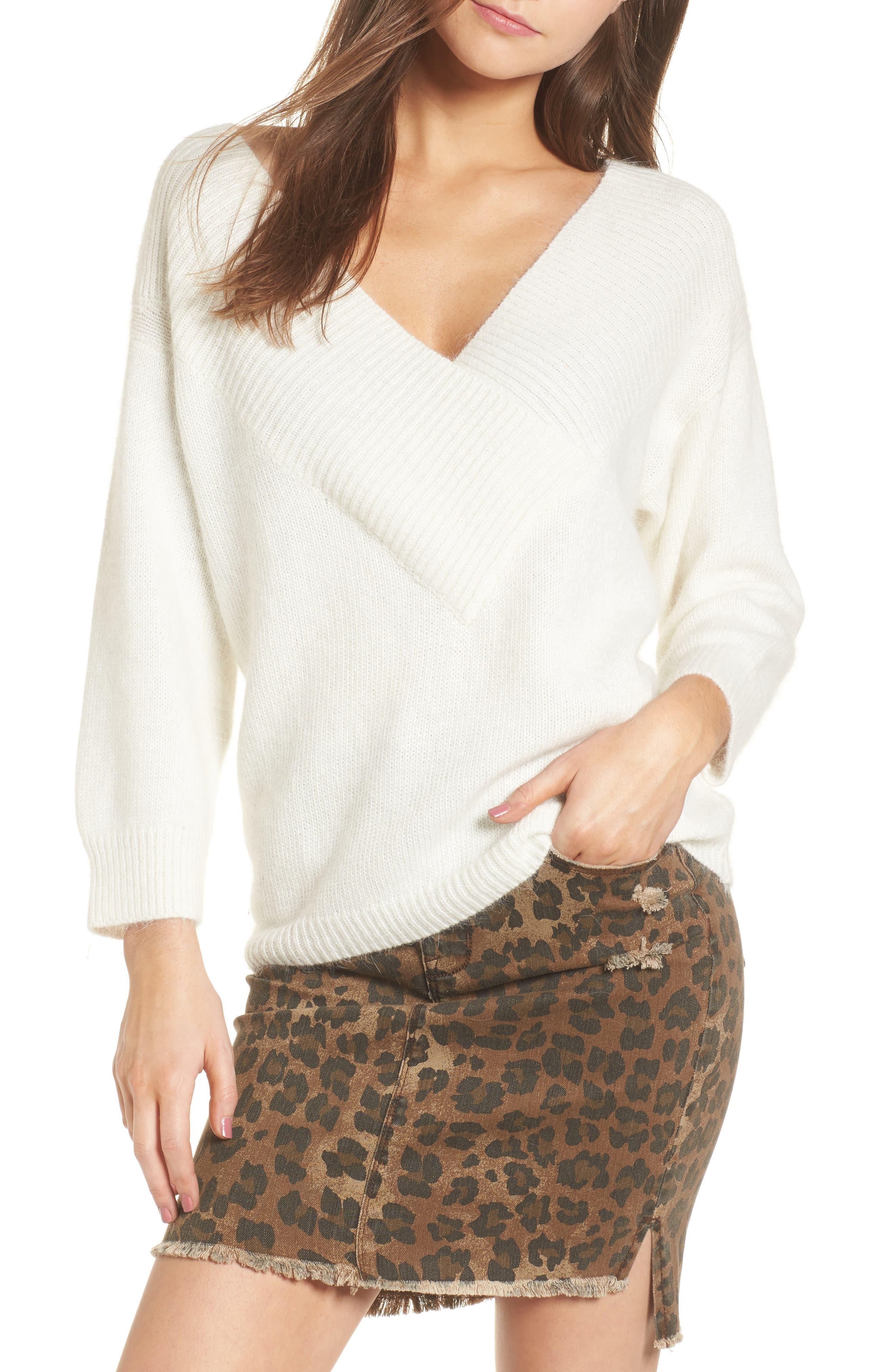 Portrait Neck Sweater,                         Main,                         color,