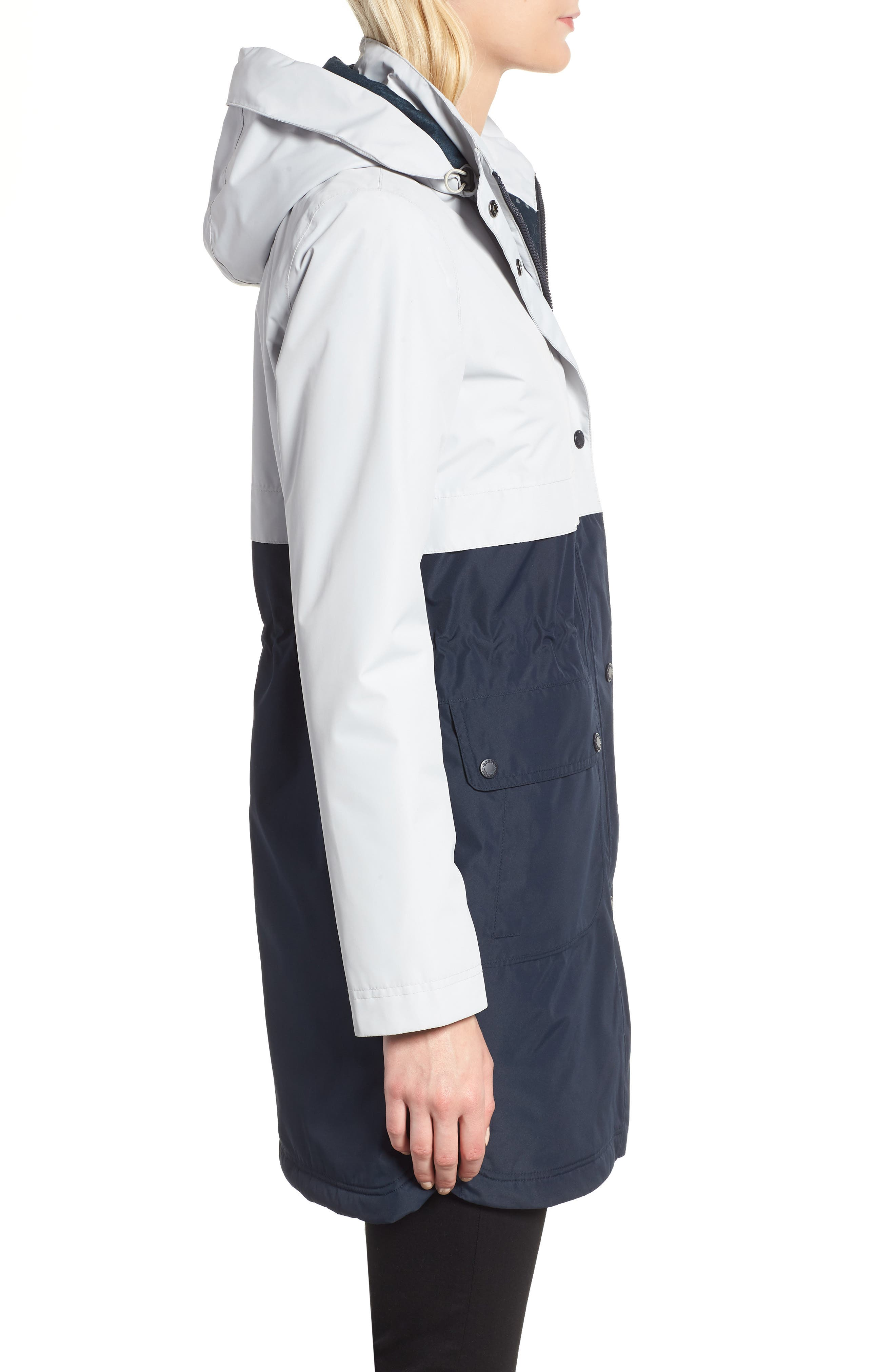 Damini Waterproof Jacket,                             Alternate thumbnail 3, color,                             410