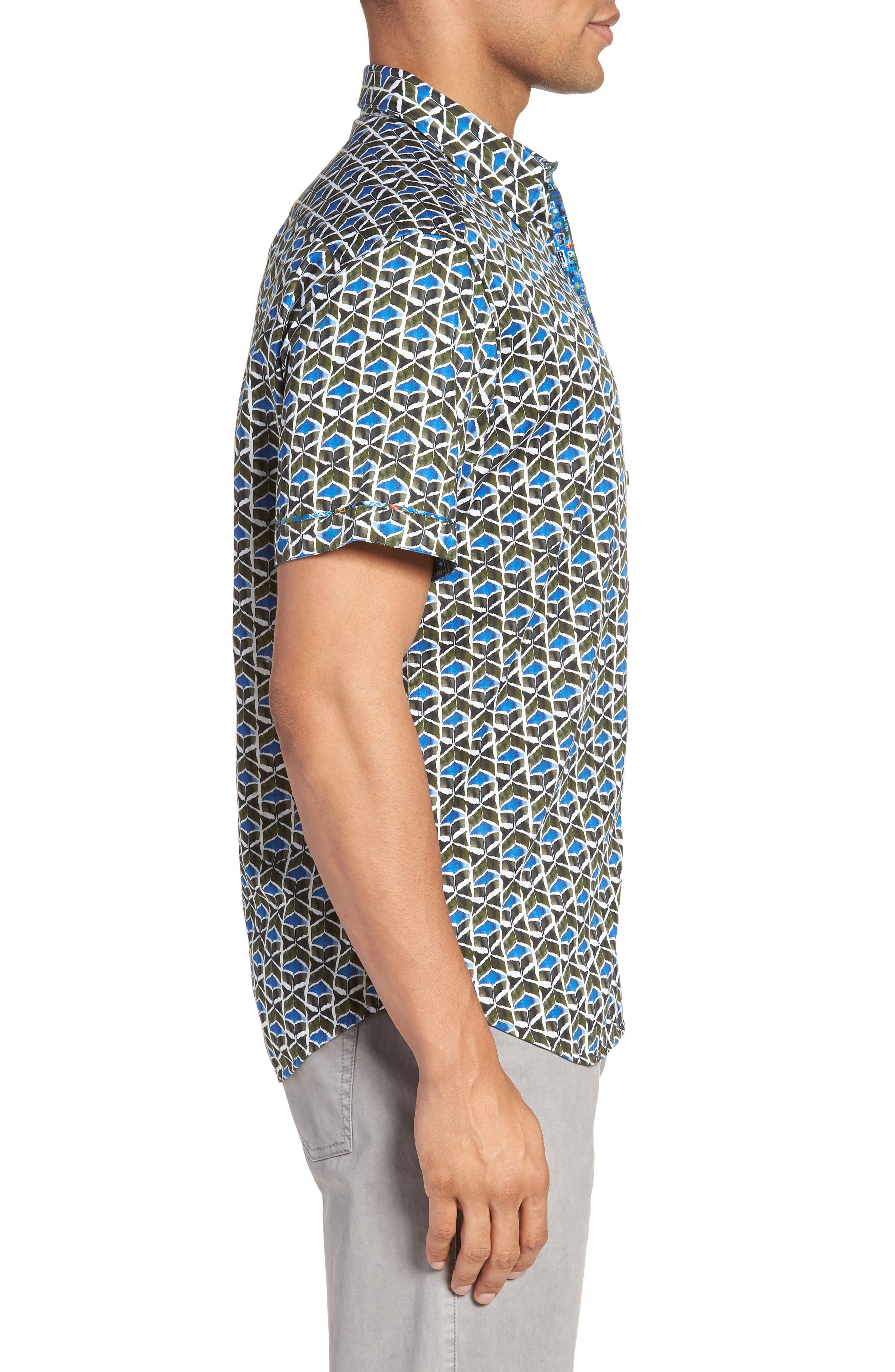 Tames Classic Fit Sport Shirt,                             Alternate thumbnail 3, color,                             300