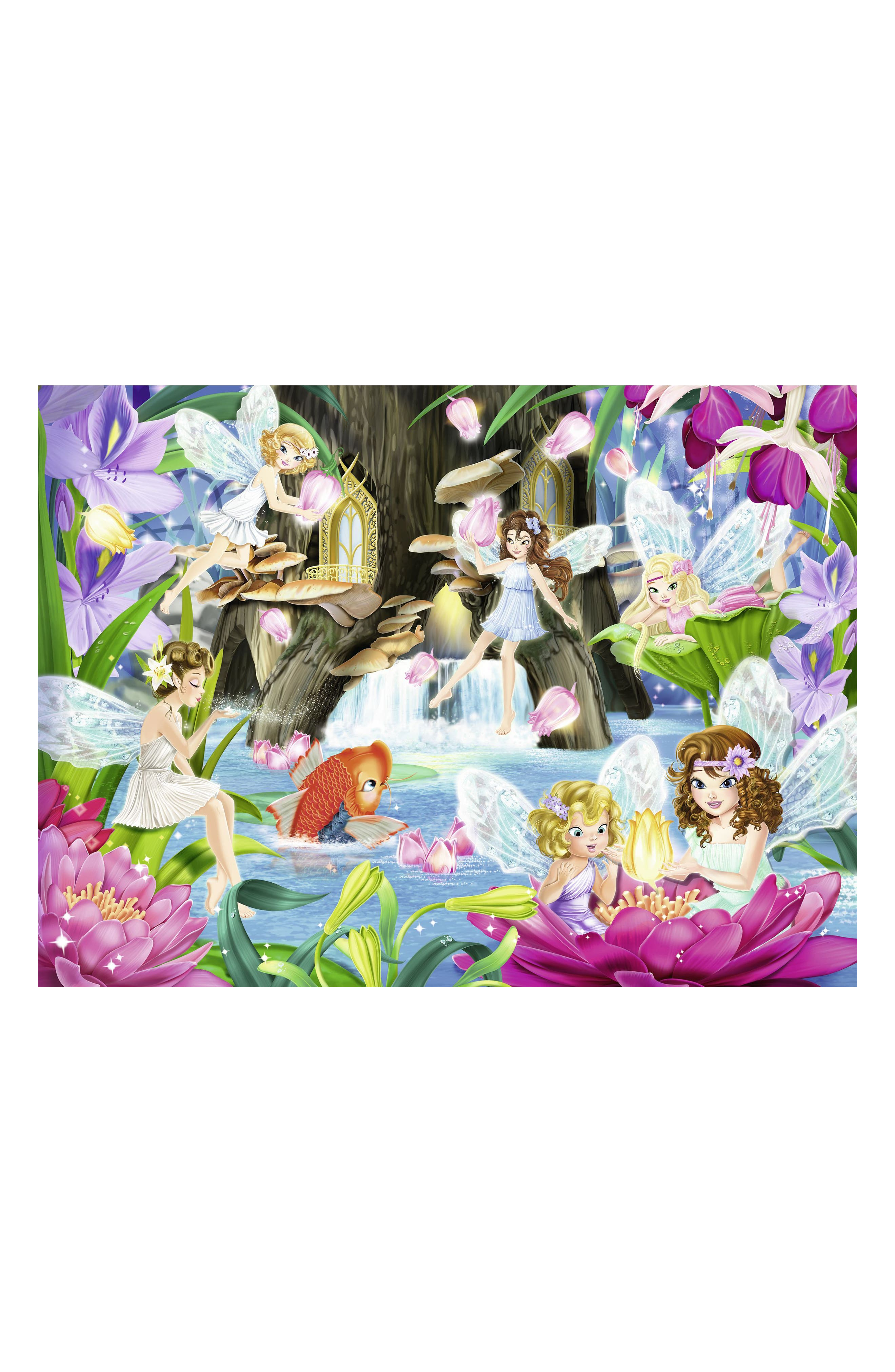 Magical Fairy Night 100-Piece Puzzle,                             Alternate thumbnail 2, color,