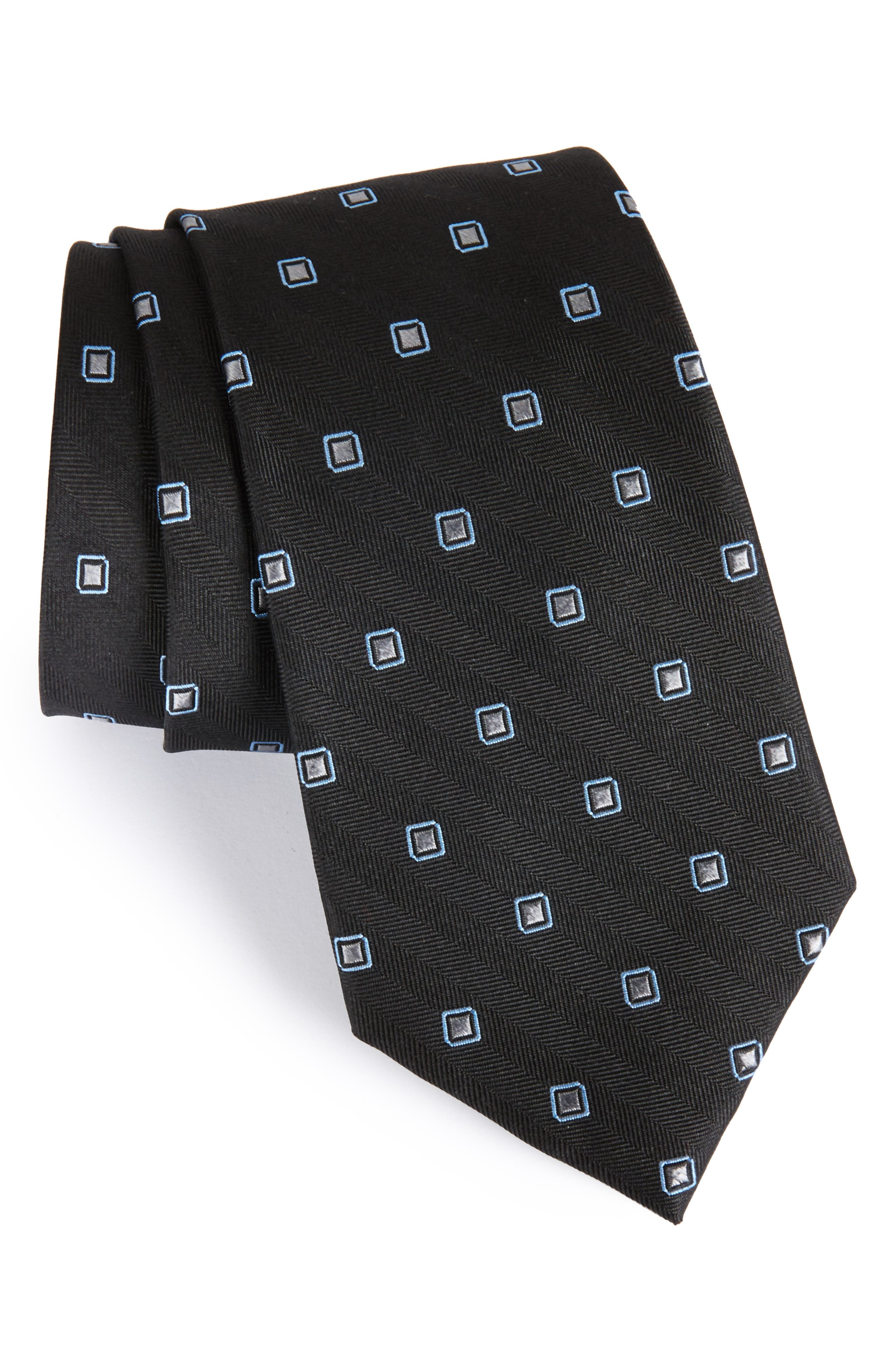 Open Ground Silk Tie,                             Main thumbnail 1, color,