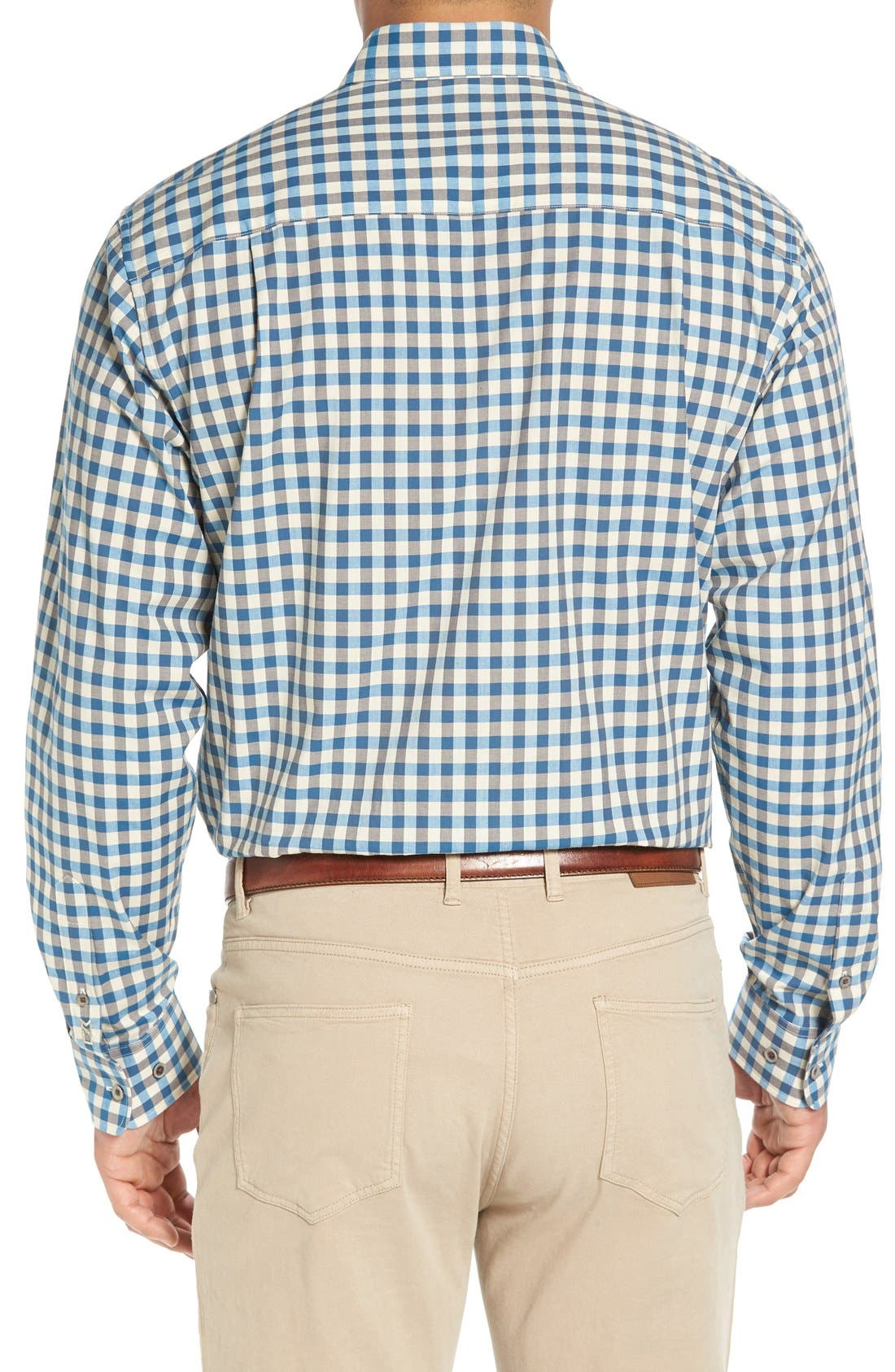 'Wildwood' Regular Fit Check Sport Shirt,                             Alternate thumbnail 6, color,