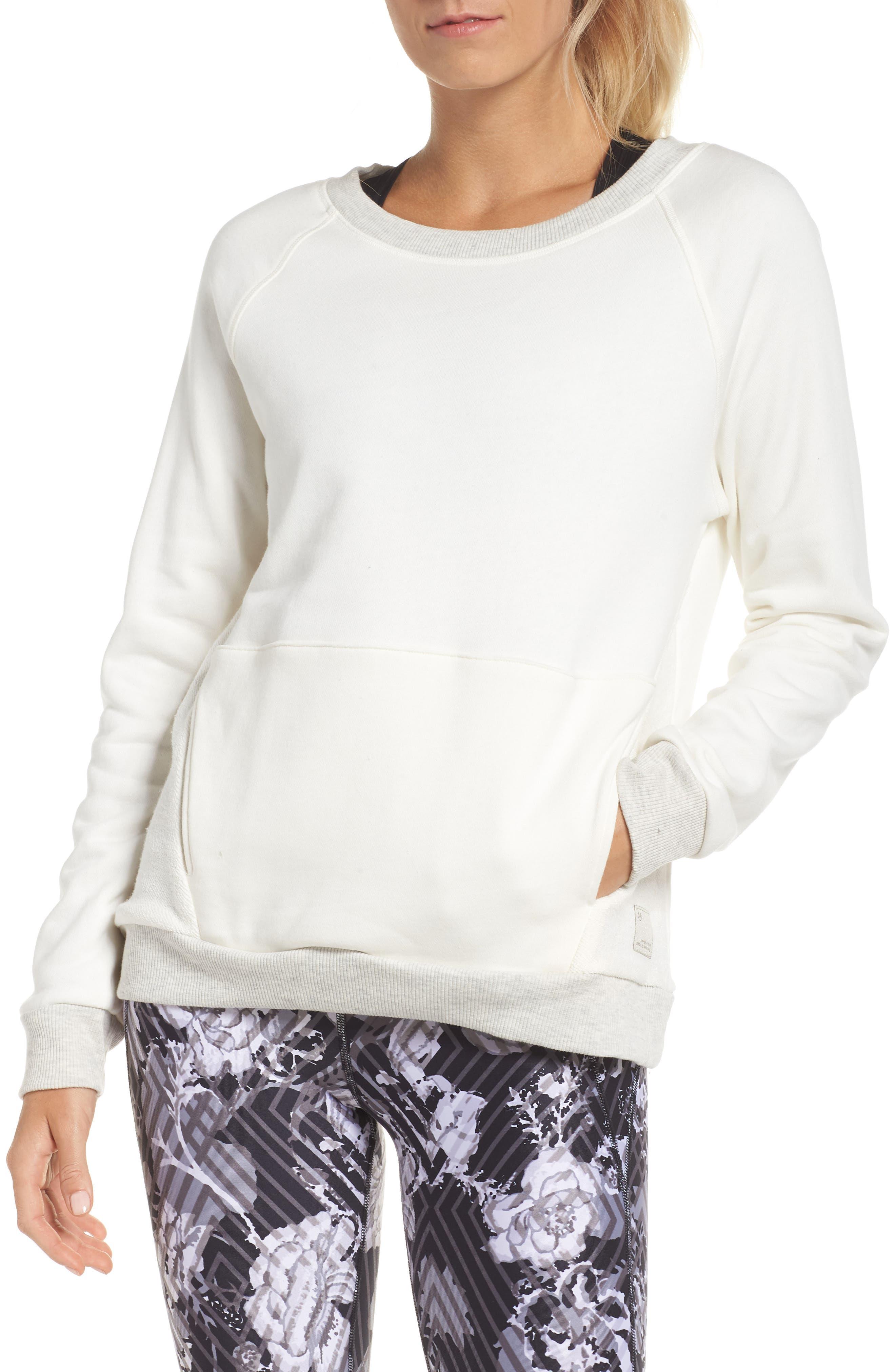Chance Eggnog Sweatshirt,                         Main,                         color, BEIGE