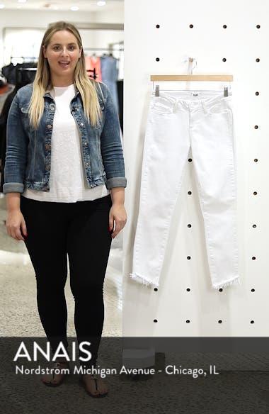 Verdugo Slanted Crop Skinny Jeans, sales video thumbnail