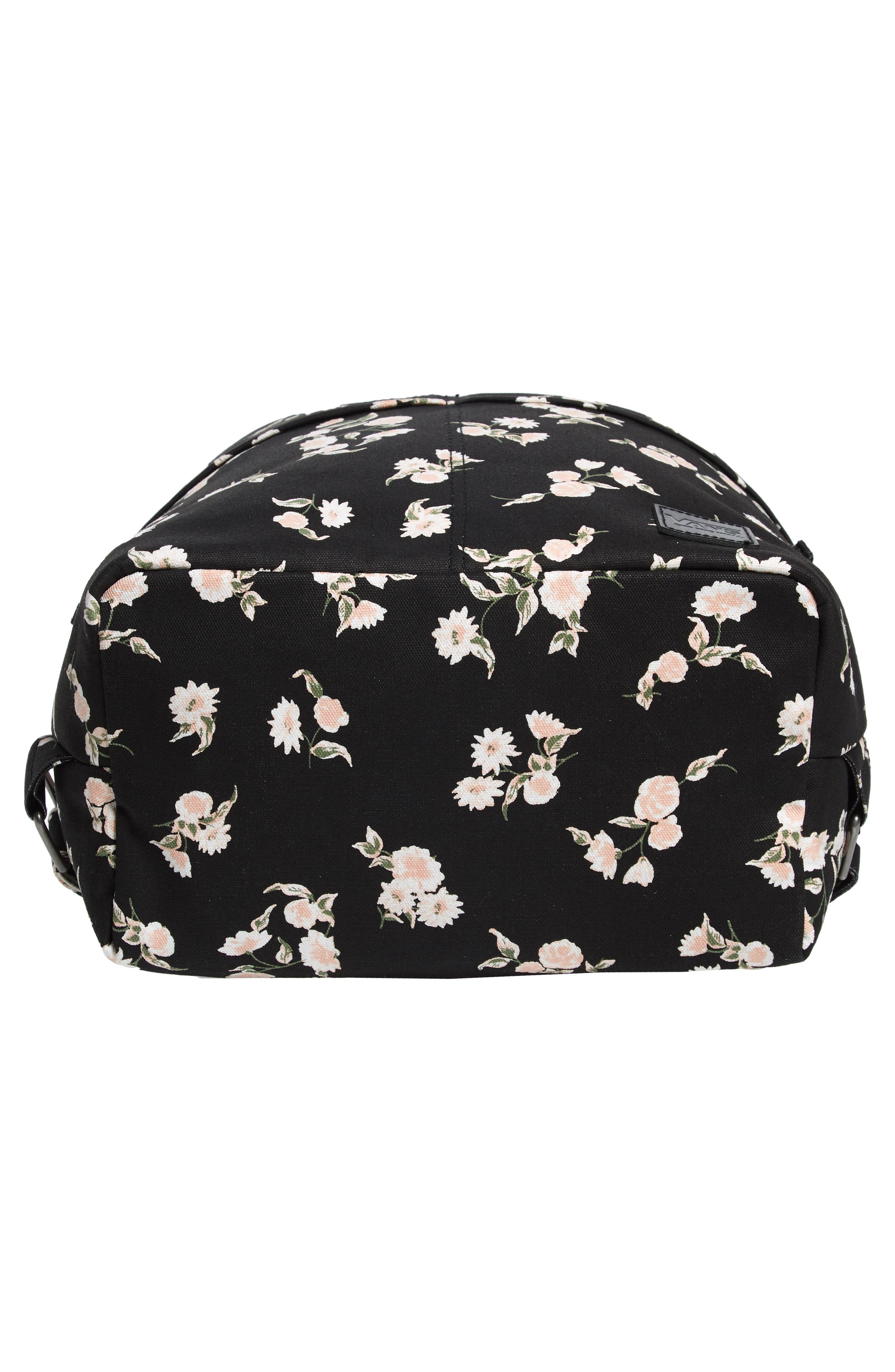 Lakeside Floral Print Backpack,                             Alternate thumbnail 6, color,                             001
