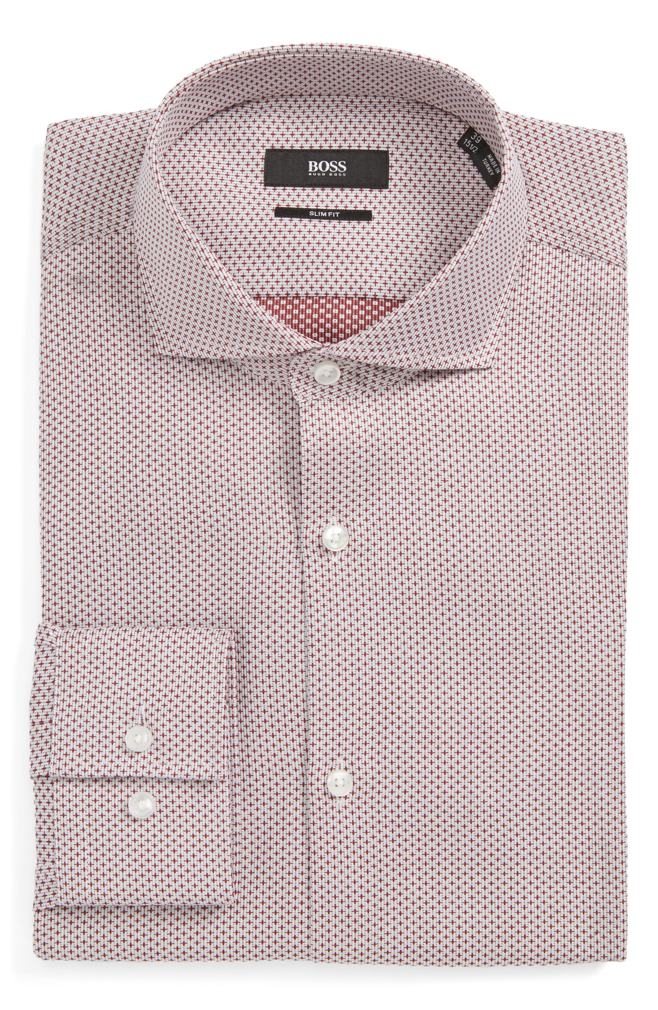 Jason Slim Fit Dress Shirt,                             Main thumbnail 1, color,                             930