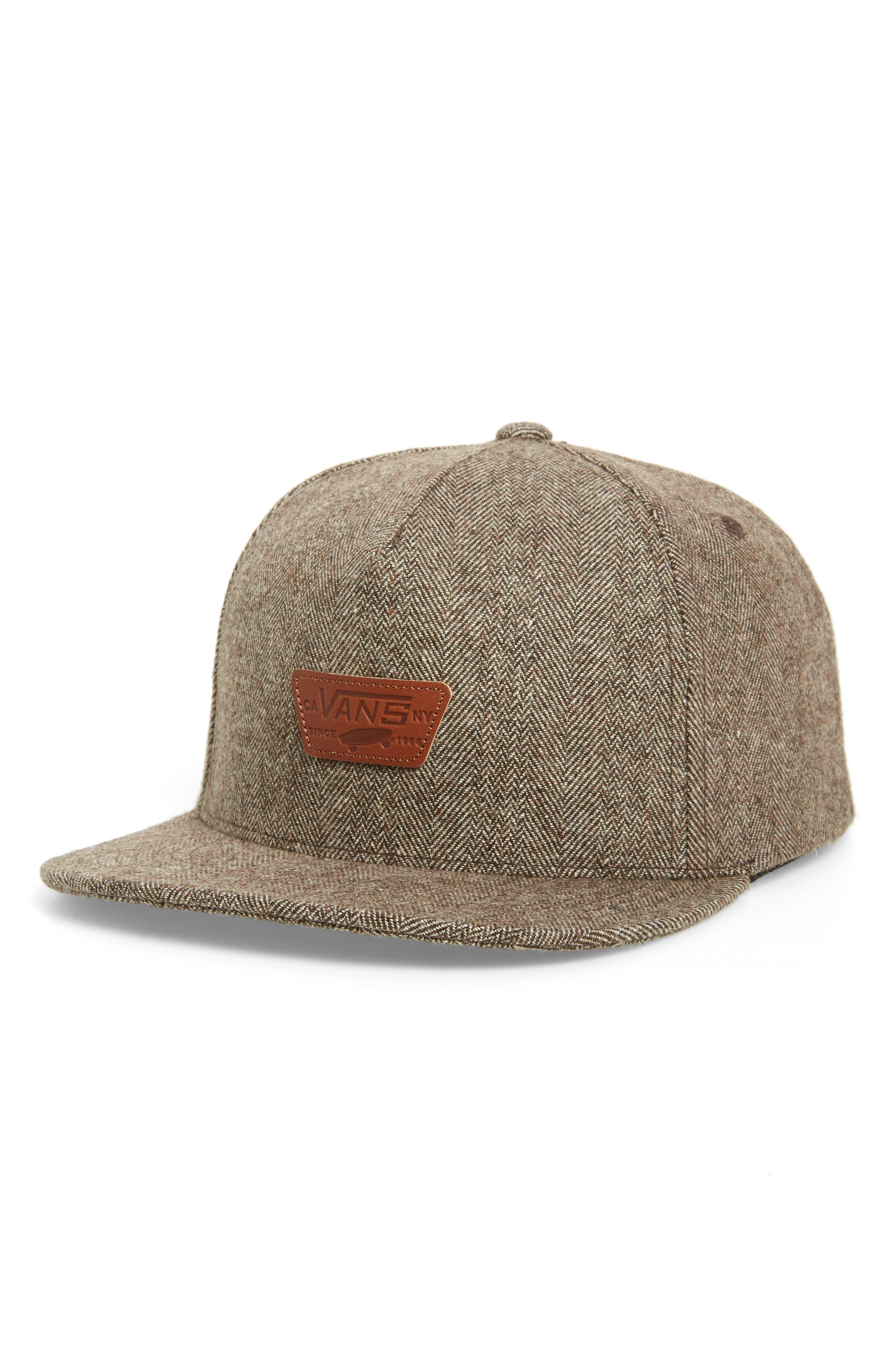 Mini Patch II Snapback Cap,                             Main thumbnail 1, color,                             SEQUOIA